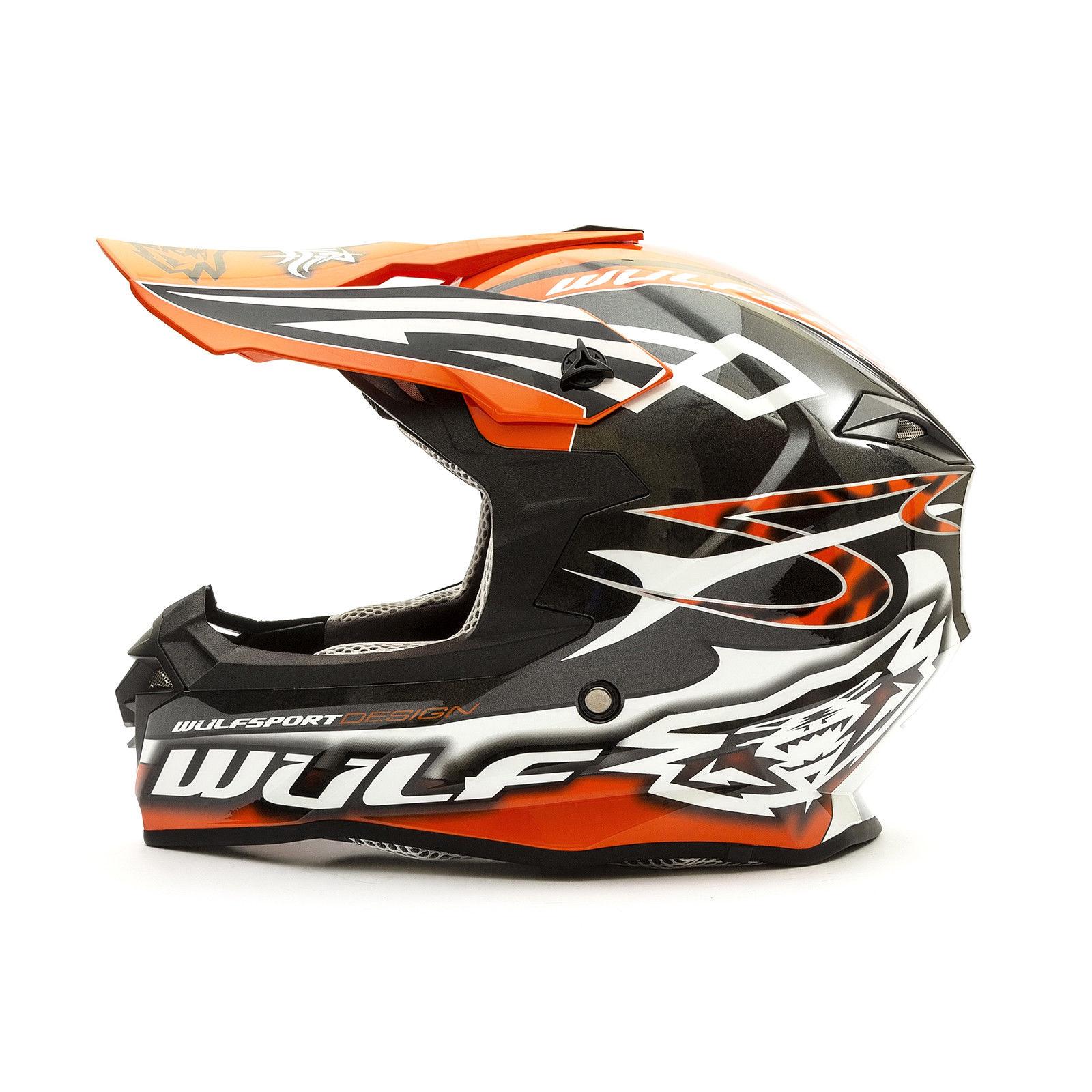 Wulfsport-Adult-Sceptre-Helmets-Motocross-Pitbike-Motorbike-Off-Road-Racing-ATV thumbnail 83