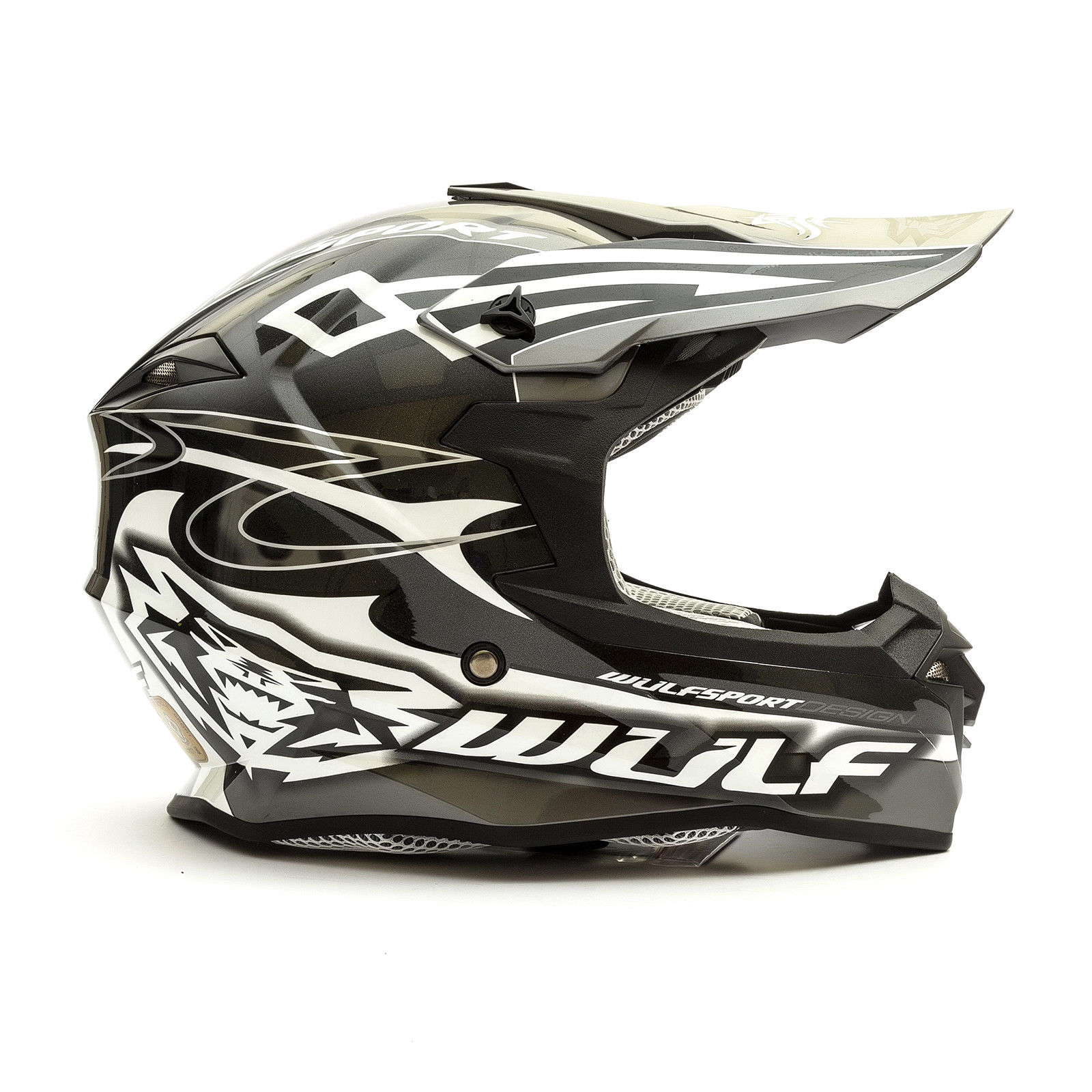 Wulfsport-Adult-Sceptre-Helmets-Motocross-Pitbike-Motorbike-Off-Road-Racing-ATV thumbnail 13