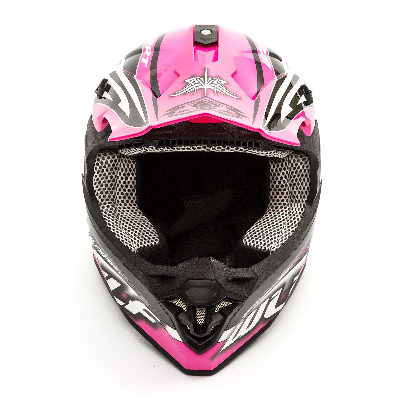 Wulfsport-Adult-Sceptre-Helmets-Motocross-Pitbike-Motorbike-Off-Road-Racing-ATV thumbnail 46