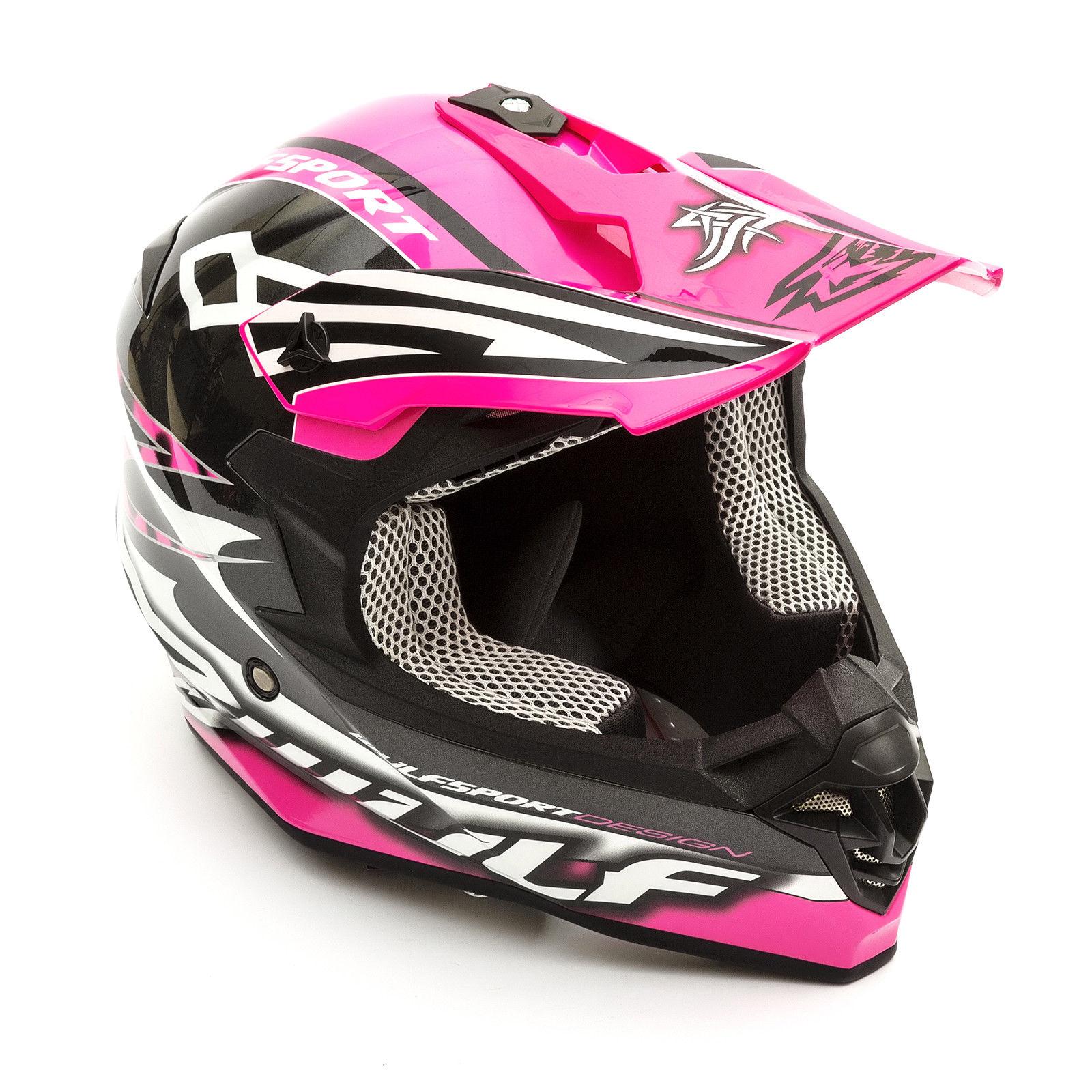 Wulfsport-Adult-Sceptre-Helmets-Motocross-Pitbike-Motorbike-Off-Road-Racing-ATV thumbnail 45