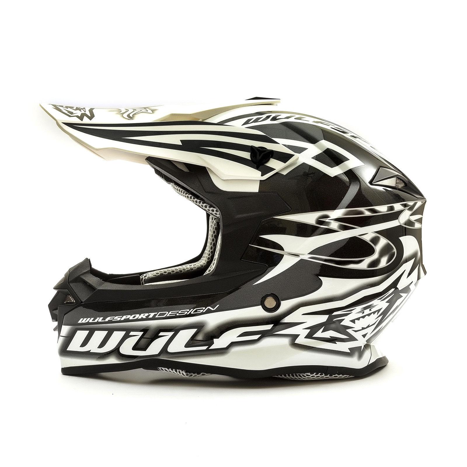 Wulfsport-Adult-Sceptre-Helmets-Motocross-Pitbike-Motorbike-Off-Road-Racing-ATV thumbnail 59