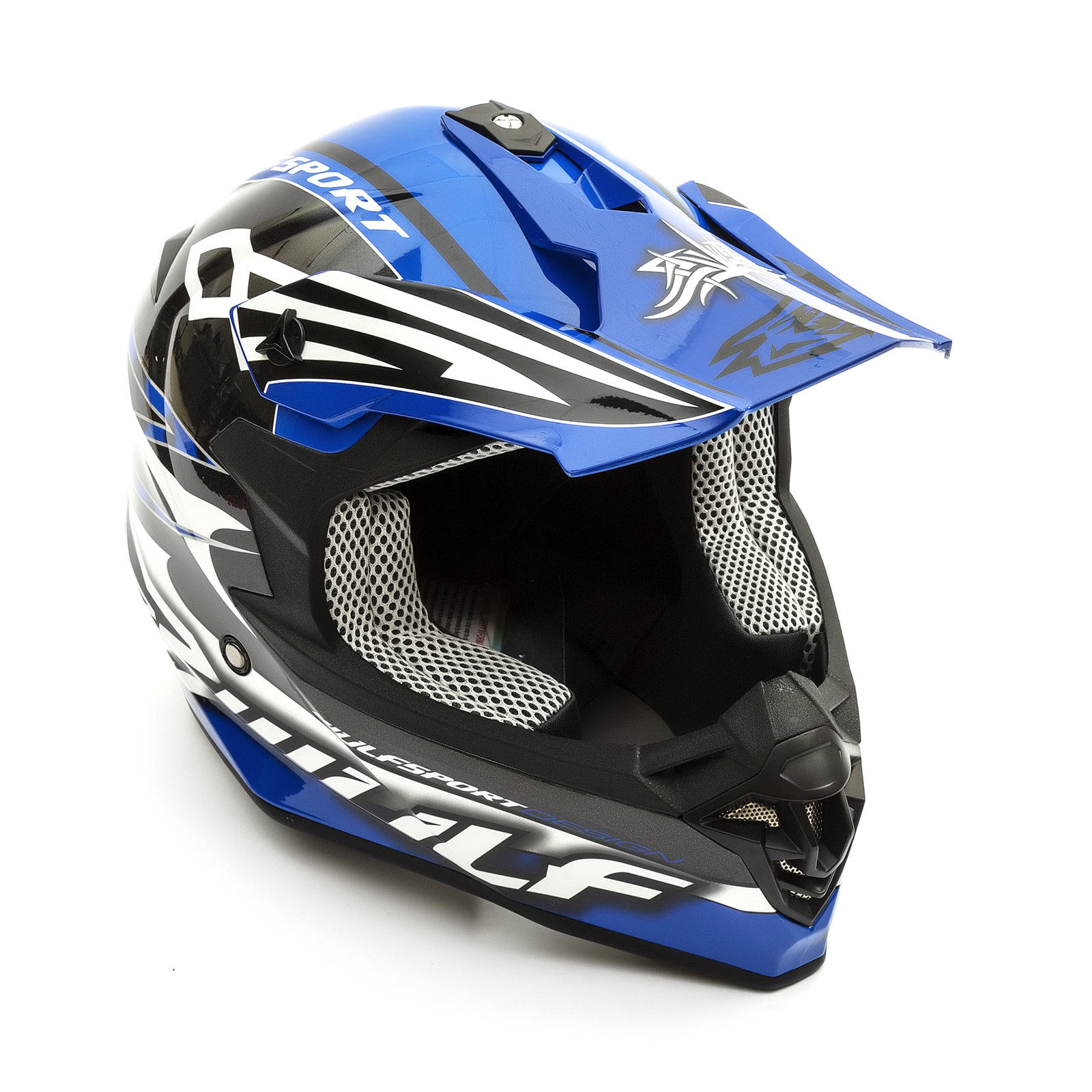 Wulfsport-Adult-Sceptre-Helmets-Motocross-Pitbike-Motorbike-Off-Road-Racing-ATV thumbnail 21