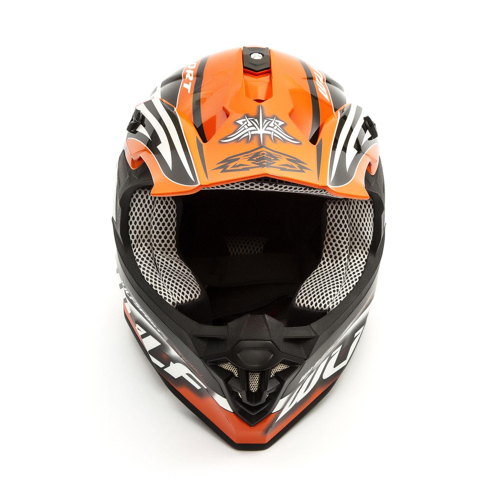 Wulfsport-Adult-Sceptre-Helmets-Motocross-Pitbike-Motorbike-Off-Road-Racing-ATV thumbnail 82