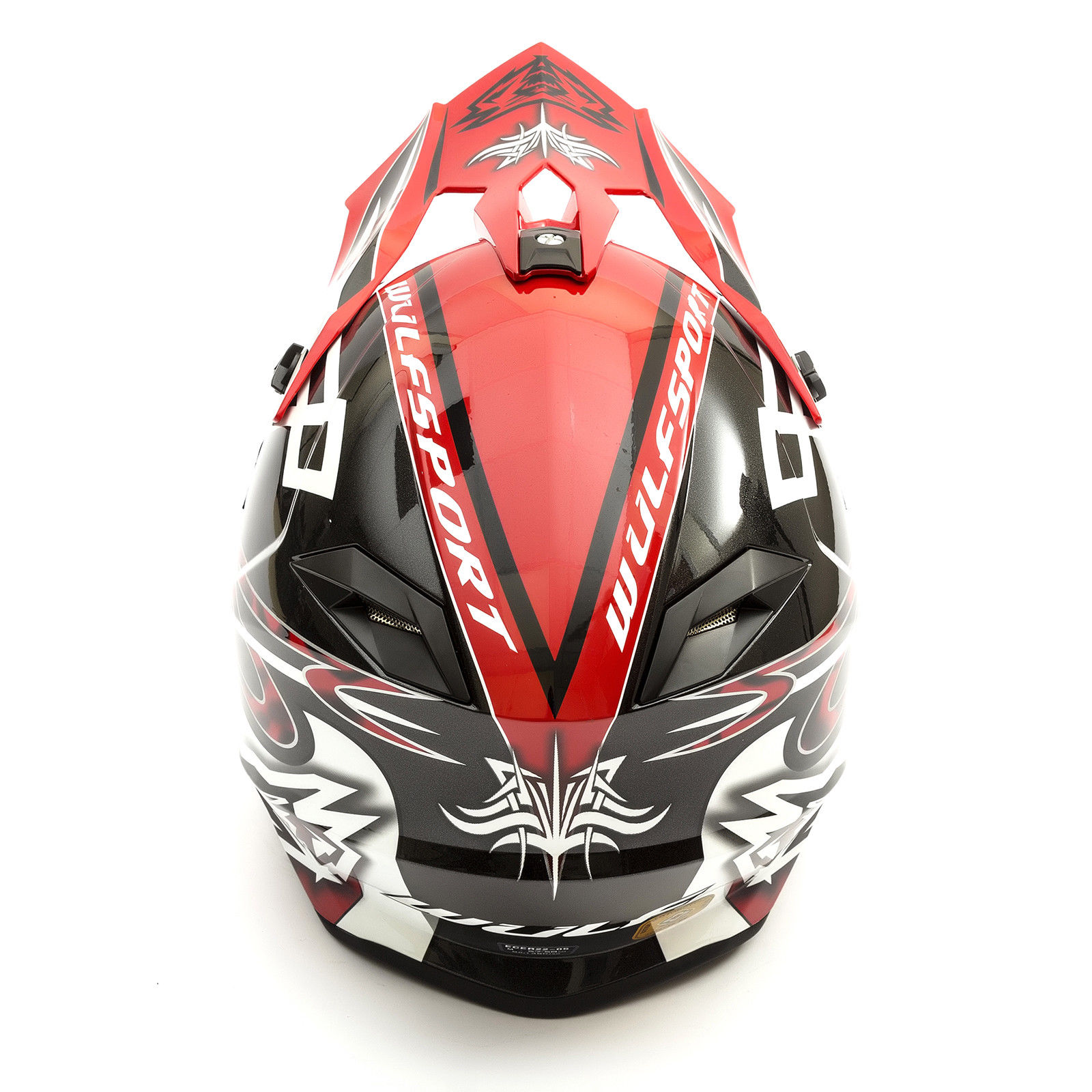 Wulfsport-Adult-Sceptre-Helmets-Motocross-Pitbike-Motorbike-Off-Road-Racing-ATV thumbnail 30