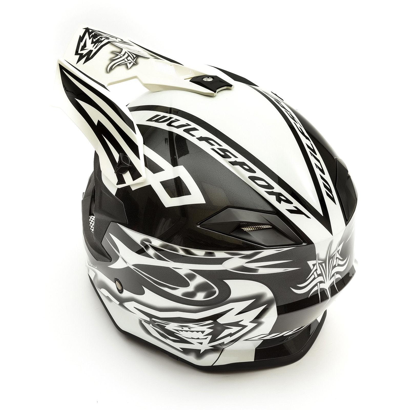 Wulfsport-Adult-Sceptre-Helmets-Motocross-Pitbike-Motorbike-Off-Road-Racing-ATV thumbnail 53
