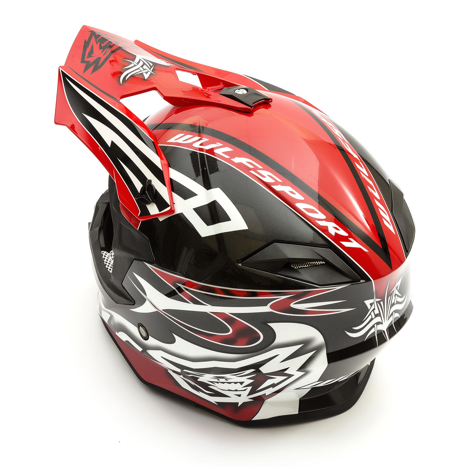 Wulfsport-Adult-Sceptre-Helmets-Motocross-Pitbike-Motorbike-Off-Road-Racing-ATV thumbnail 29