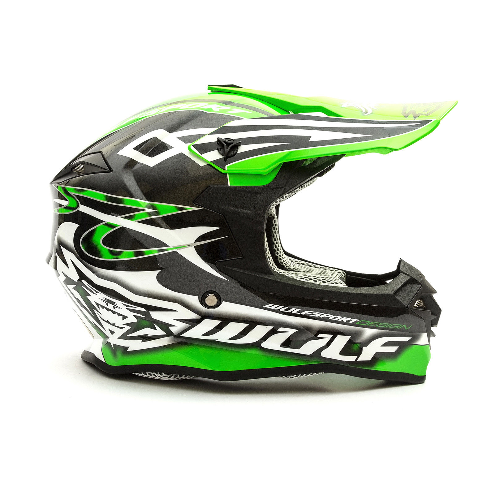 Wulfsport-Adult-Sceptre-Helmets-Motocross-Pitbike-Motorbike-Off-Road-Racing-ATV thumbnail 73
