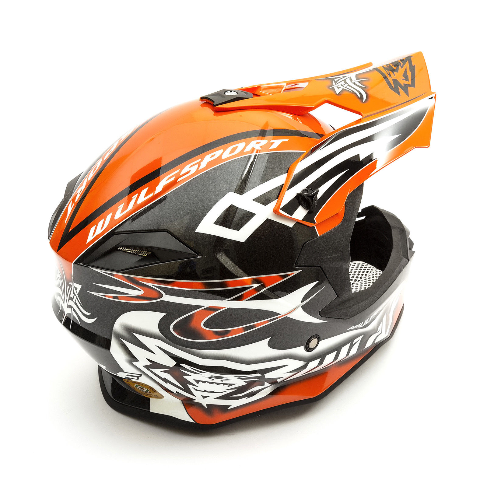 Wulfsport-Adult-Sceptre-Helmets-Motocross-Pitbike-Motorbike-Off-Road-Racing-ATV thumbnail 79