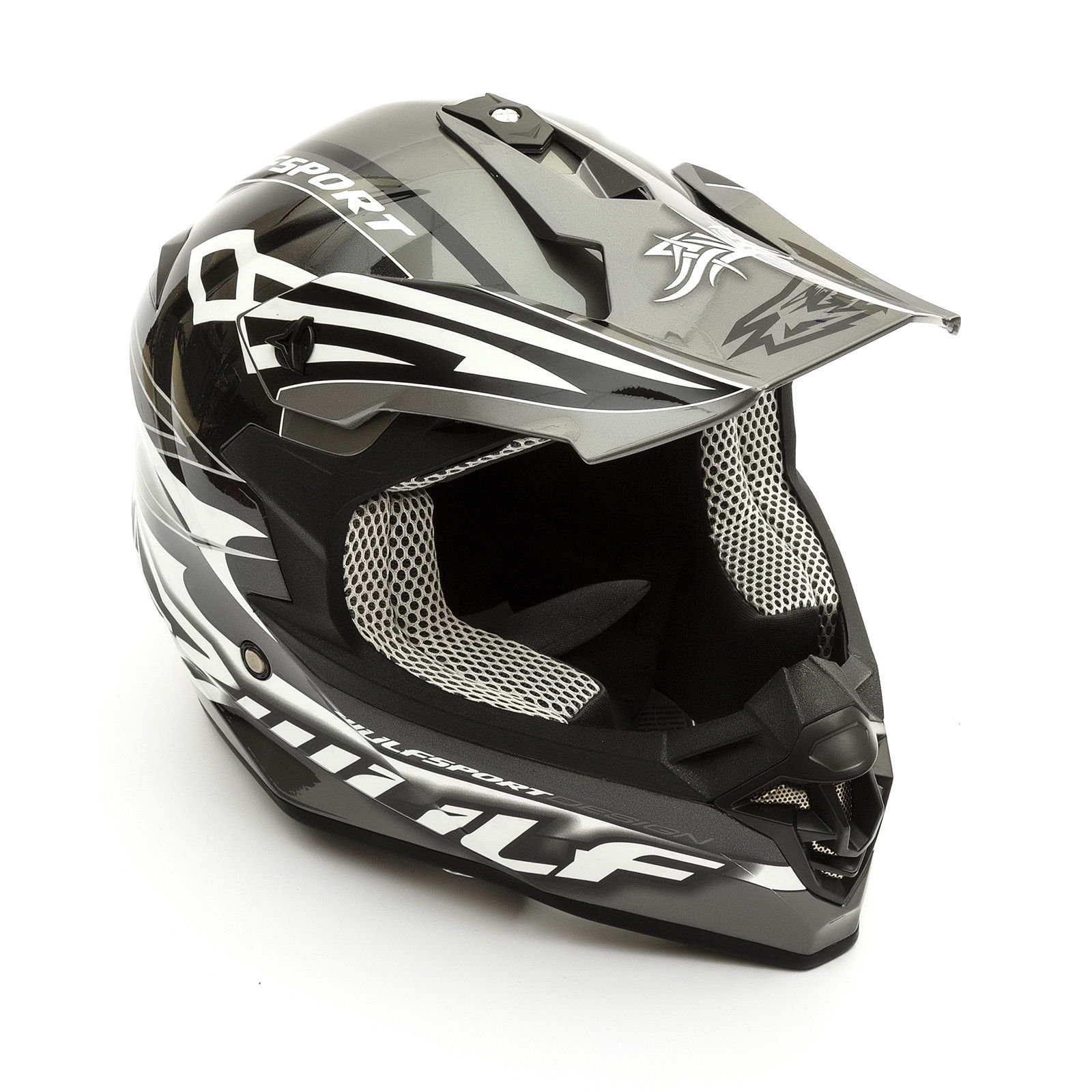 Wulfsport-Adult-Sceptre-Helmets-Motocross-Pitbike-Motorbike-Off-Road-Racing-ATV thumbnail 9
