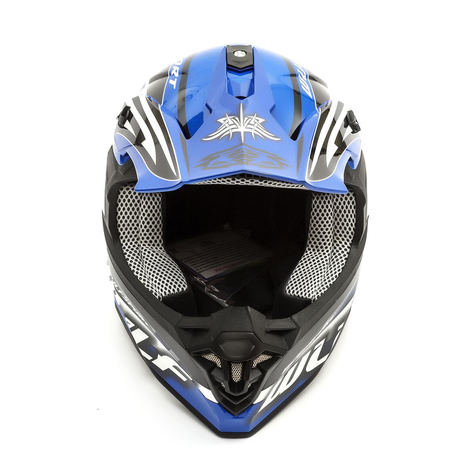Wulfsport-Adult-Sceptre-Helmets-Motocross-Pitbike-Motorbike-Off-Road-Racing-ATV thumbnail 22