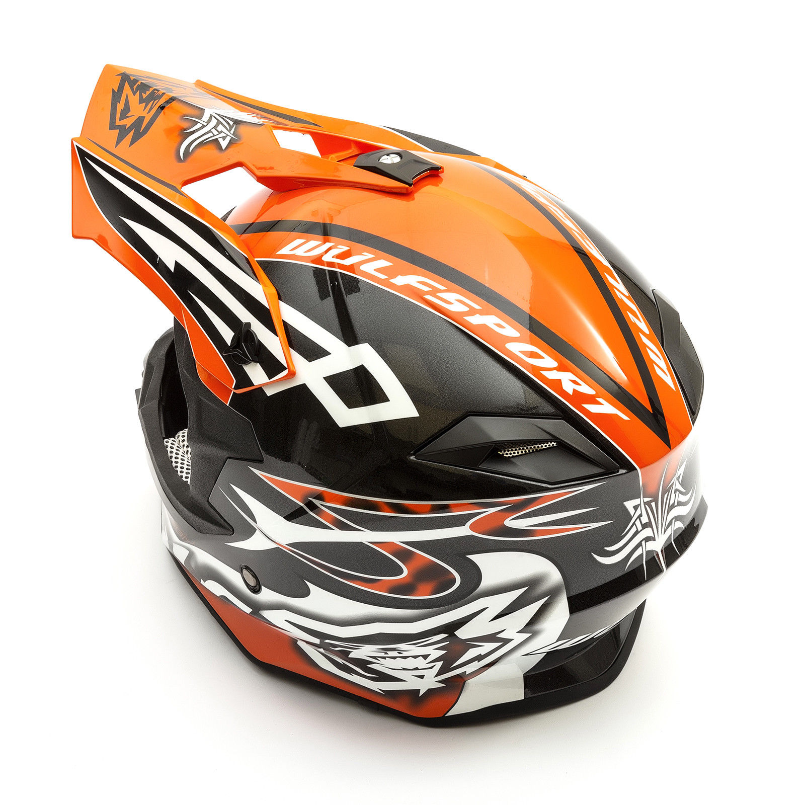 Wulfsport-Adult-Sceptre-Helmets-Motocross-Pitbike-Motorbike-Off-Road-Racing-ATV thumbnail 77