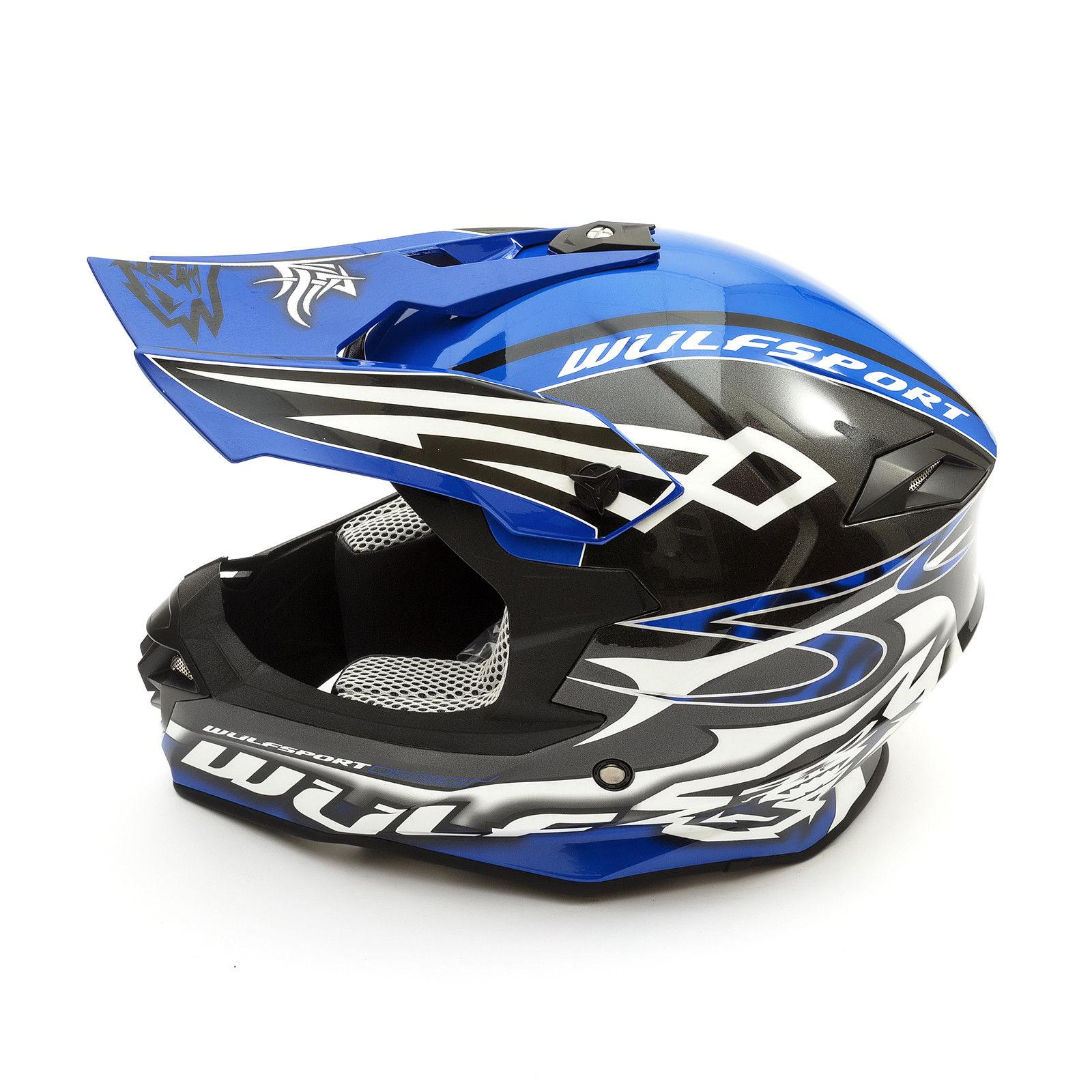 Wulfsport-Adult-Sceptre-Helmets-Motocross-Pitbike-Motorbike-Off-Road-Racing-ATV thumbnail 16