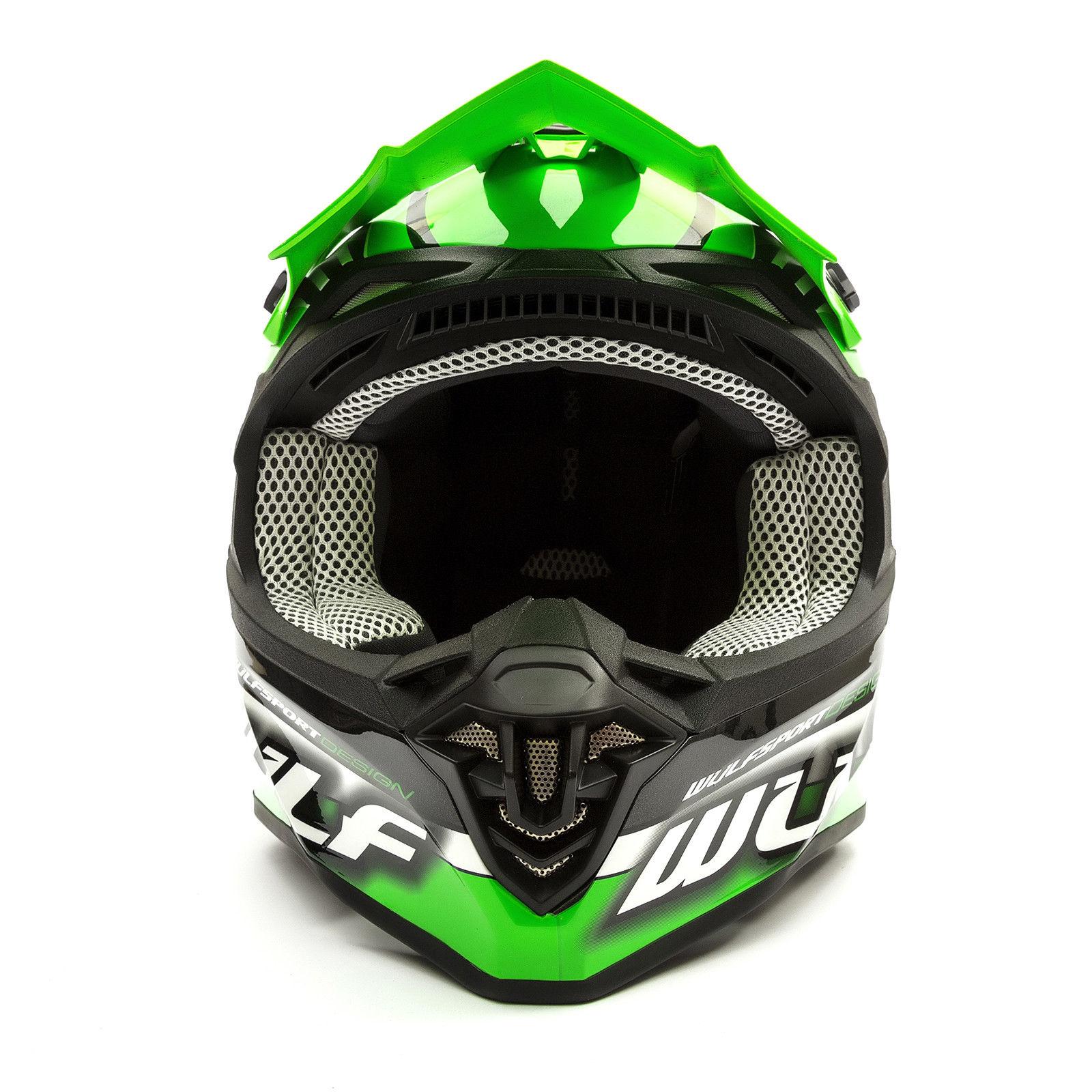 Wulfsport-Adult-Sceptre-Helmets-Motocross-Pitbike-Motorbike-Off-Road-Racing-ATV thumbnail 74