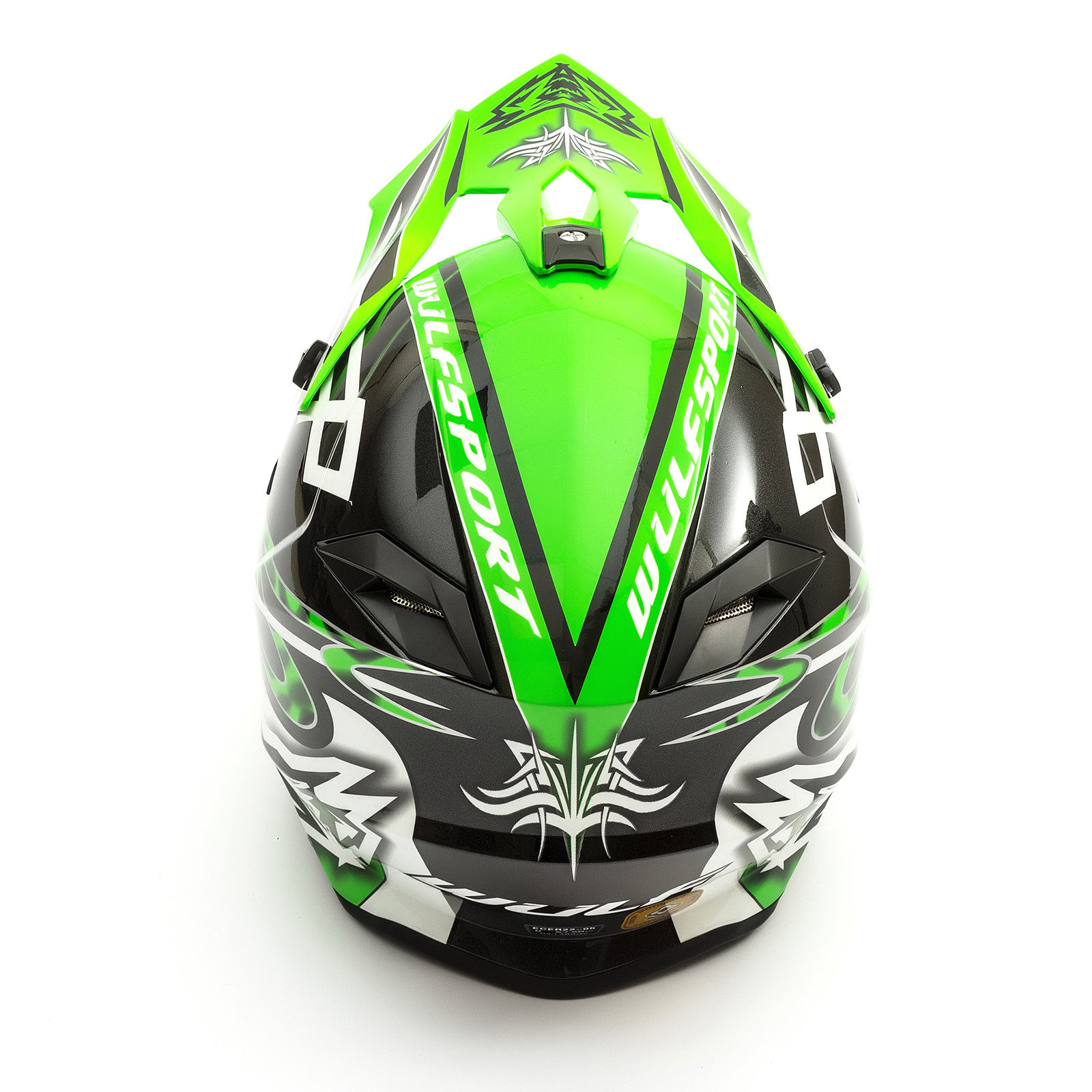Wulfsport-Adult-Sceptre-Helmets-Motocross-Pitbike-Motorbike-Off-Road-Racing-ATV thumbnail 66