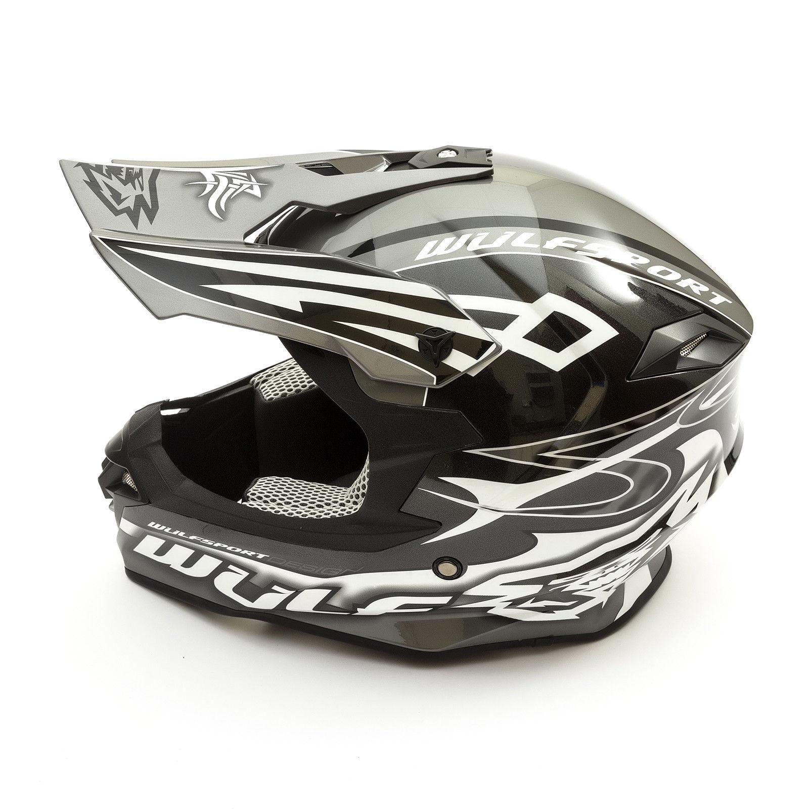 Wulfsport-Adult-Sceptre-Helmets-Motocross-Pitbike-Motorbike-Off-Road-Racing-ATV thumbnail 4