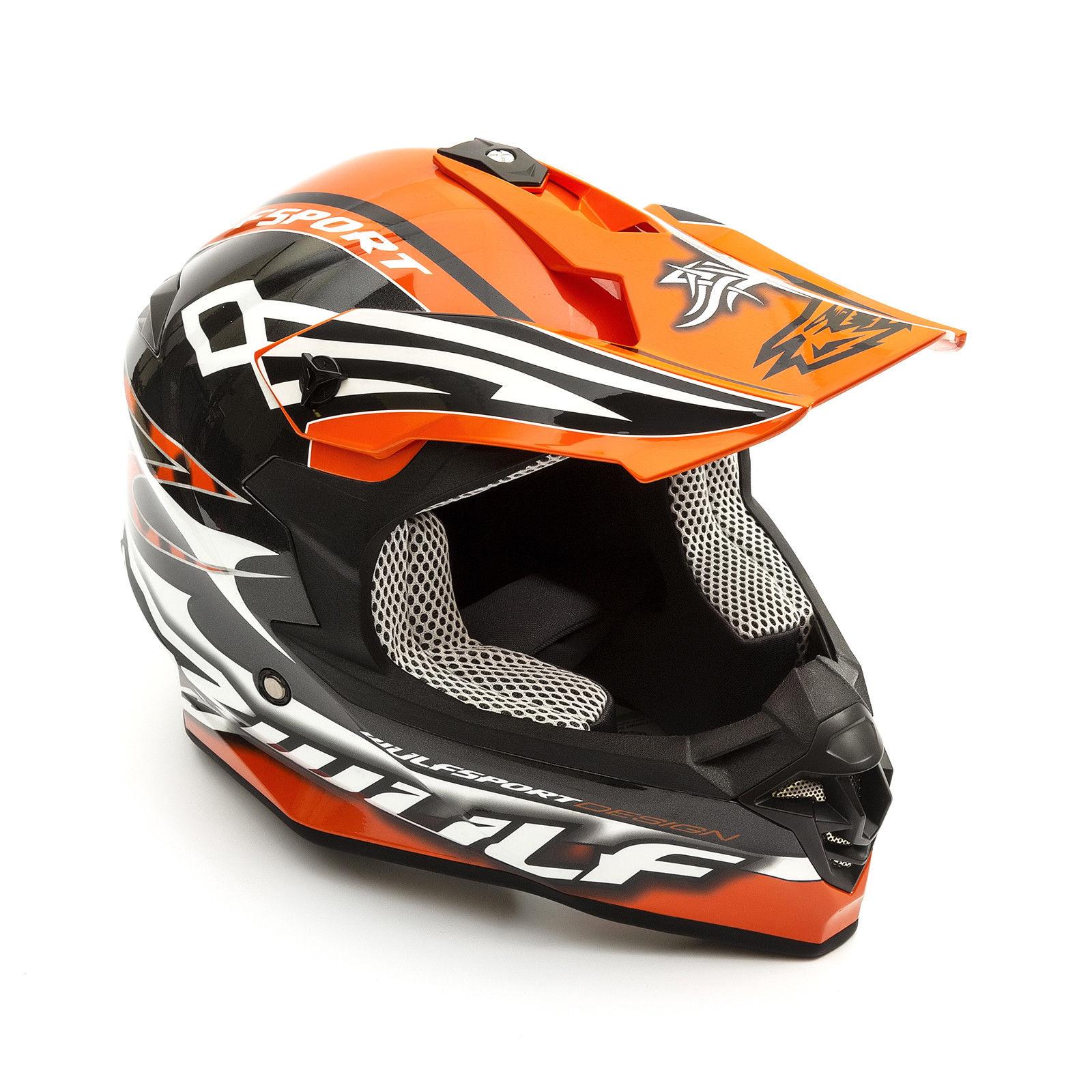 Wulfsport-Adult-Sceptre-Helmets-Motocross-Pitbike-Motorbike-Off-Road-Racing-ATV thumbnail 81