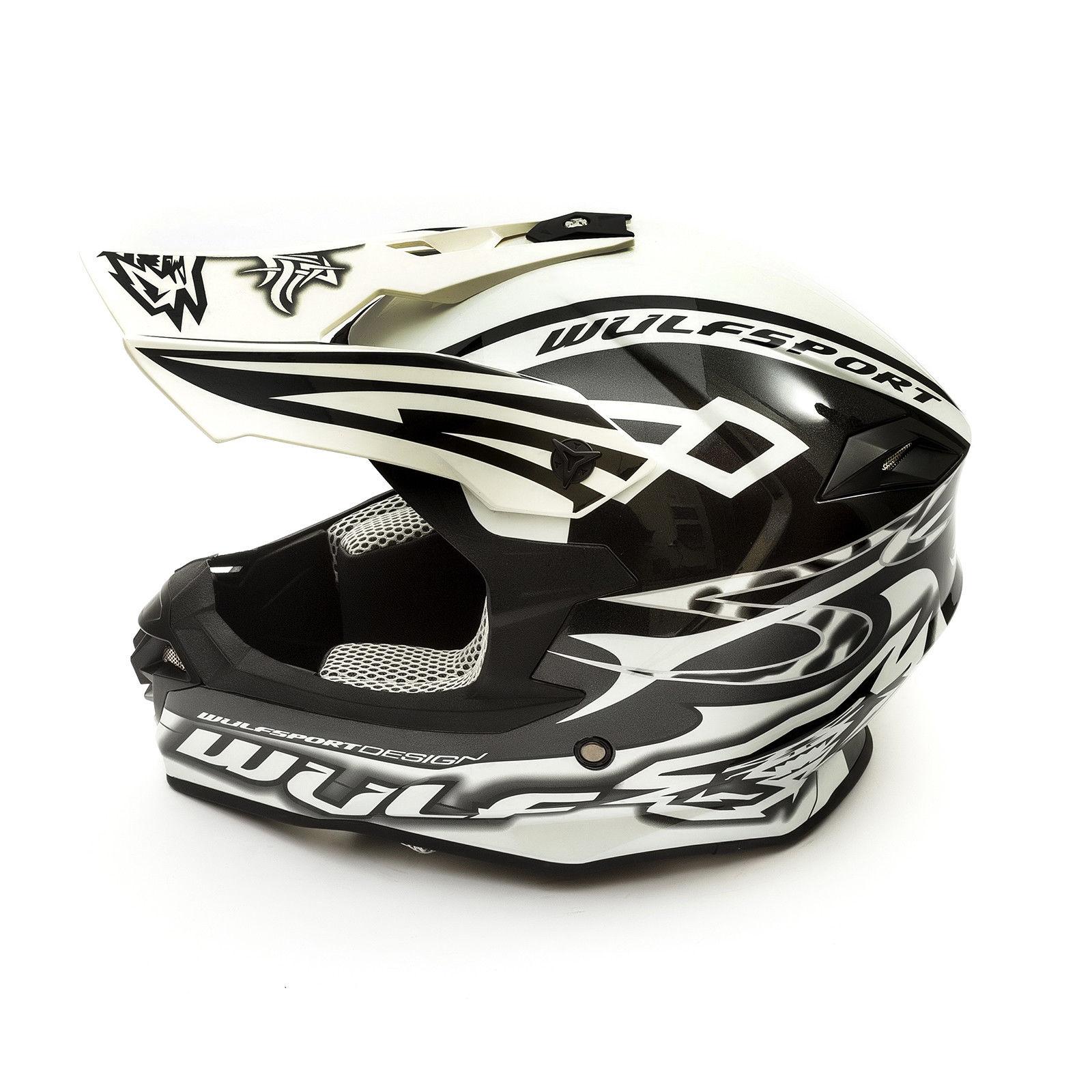 Wulfsport-Adult-Sceptre-Helmets-Motocross-Pitbike-Motorbike-Off-Road-Racing-ATV thumbnail 52