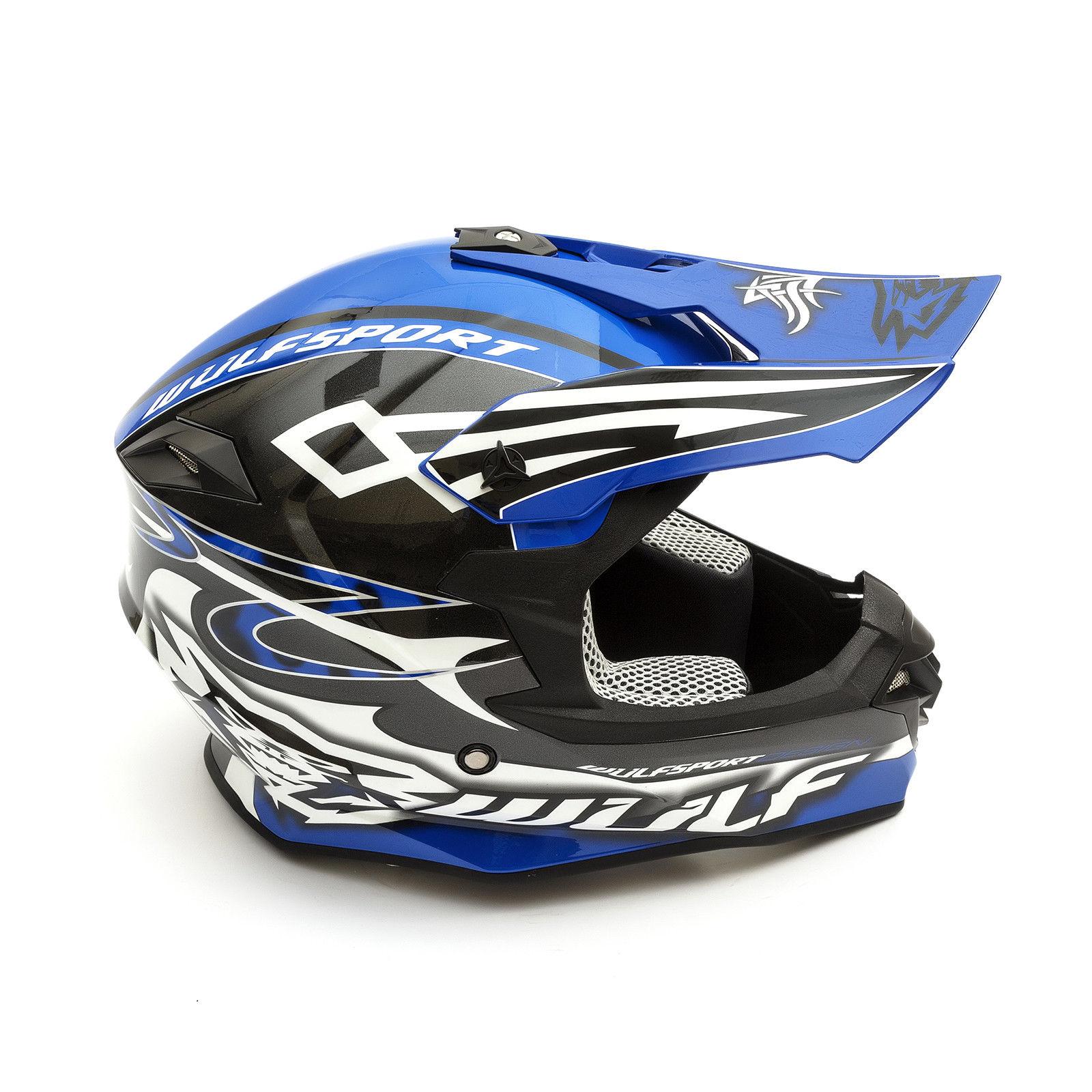 Wulfsport-Adult-Sceptre-Helmets-Motocross-Pitbike-Motorbike-Off-Road-Racing-ATV thumbnail 20