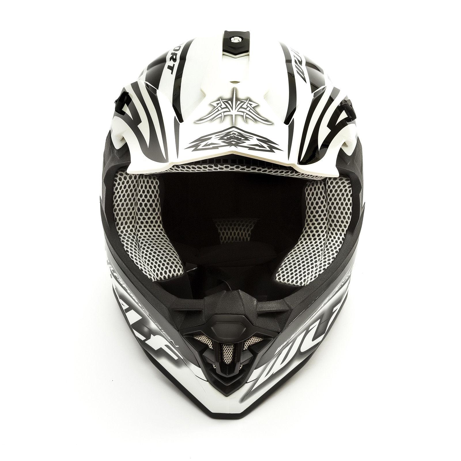 Wulfsport-Adult-Sceptre-Helmets-Motocross-Pitbike-Motorbike-Off-Road-Racing-ATV thumbnail 58