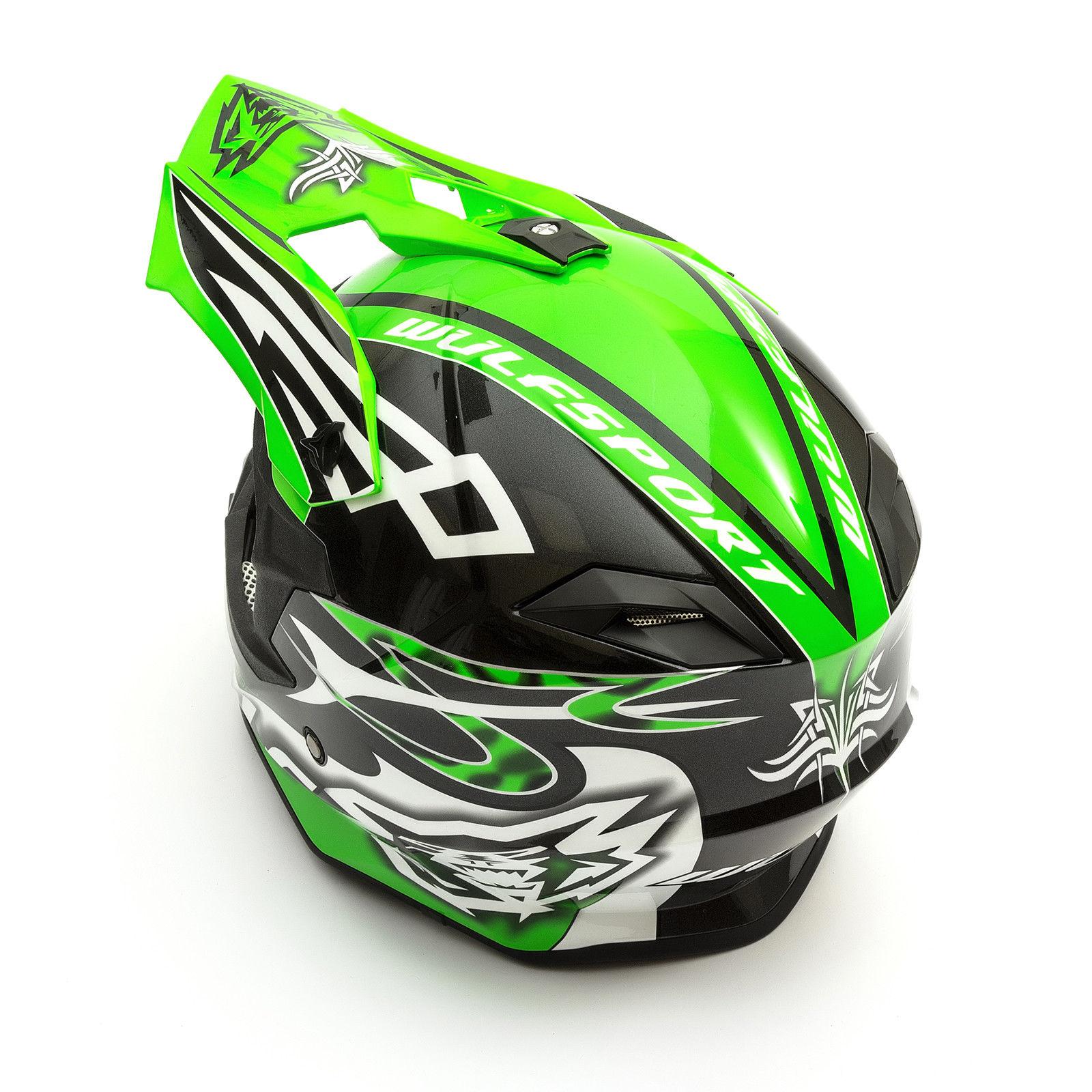 Wulfsport-Adult-Sceptre-Helmets-Motocross-Pitbike-Motorbike-Off-Road-Racing-ATV thumbnail 65