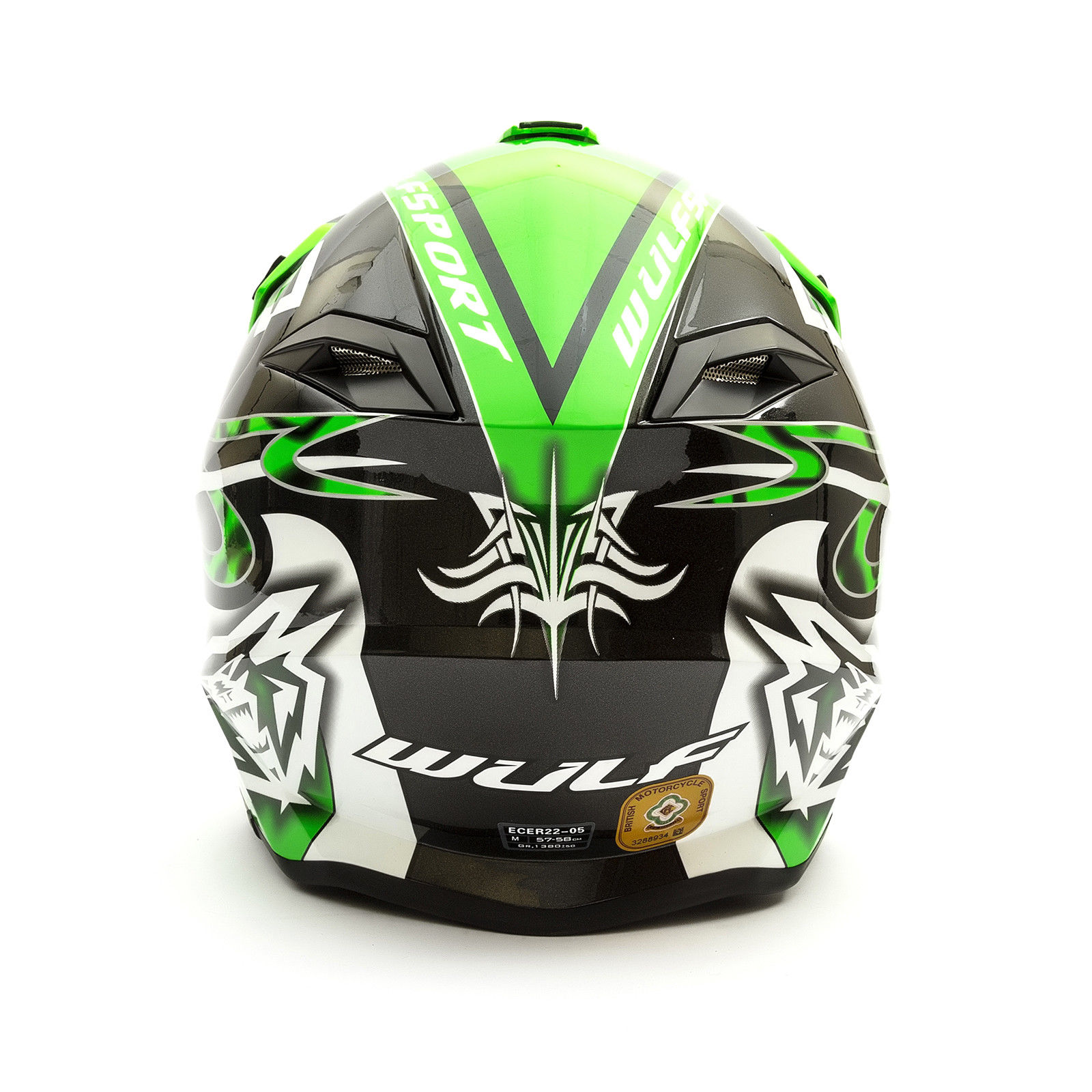 Wulfsport-Adult-Sceptre-Helmets-Motocross-Pitbike-Motorbike-Off-Road-Racing-ATV thumbnail 72