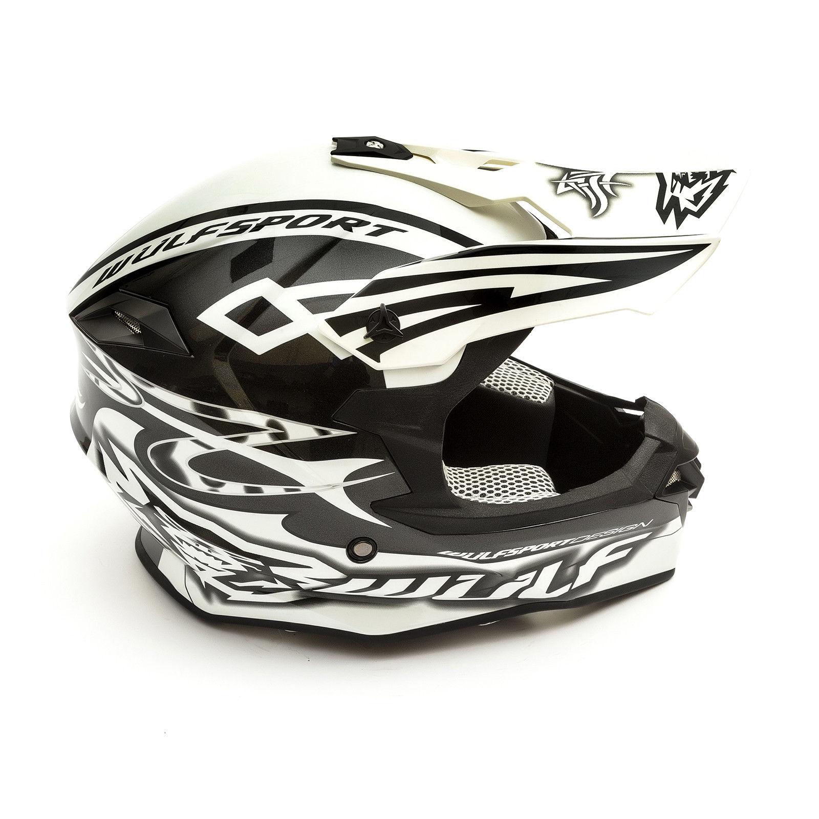 Wulfsport-Adult-Sceptre-Helmets-Motocross-Pitbike-Motorbike-Off-Road-Racing-ATV thumbnail 56