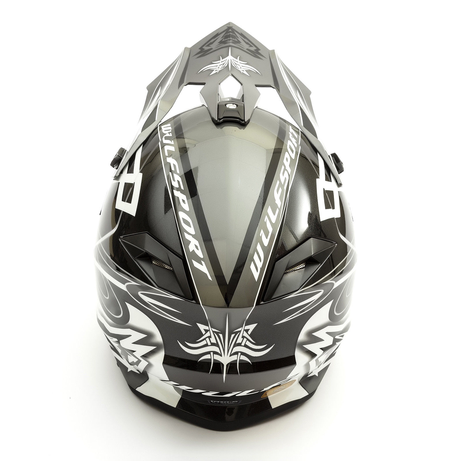 Wulfsport-Adult-Sceptre-Helmets-Motocross-Pitbike-Motorbike-Off-Road-Racing-ATV thumbnail 6
