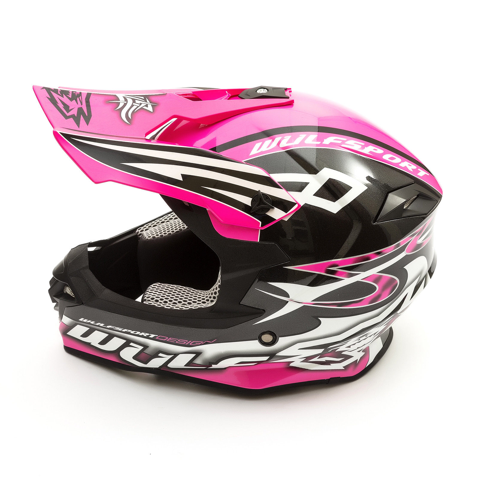 Wulfsport-Adult-Sceptre-Helmets-Motocross-Pitbike-Motorbike-Off-Road-Racing-ATV thumbnail 40