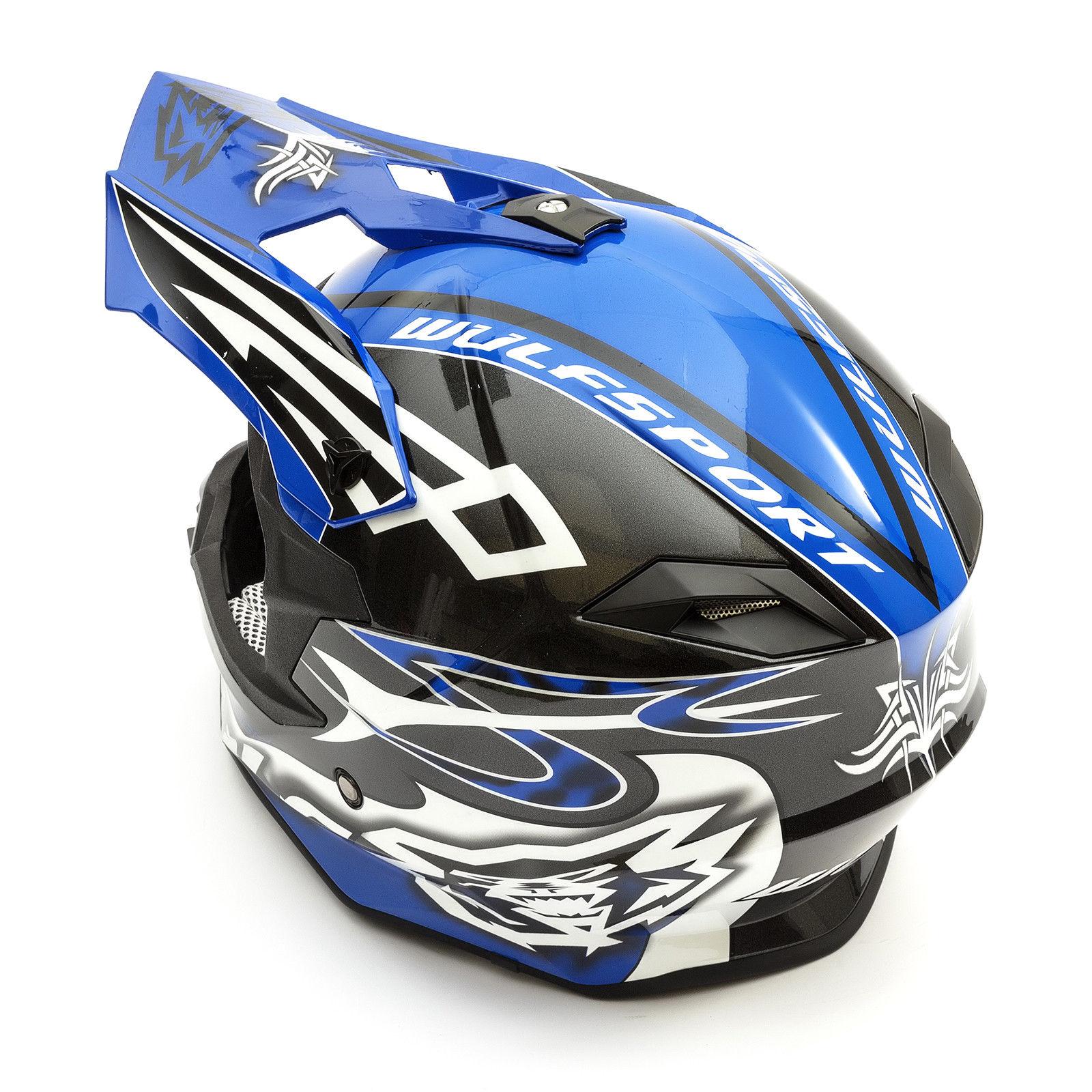 Wulfsport-Adult-Sceptre-Helmets-Motocross-Pitbike-Motorbike-Off-Road-Racing-ATV thumbnail 17