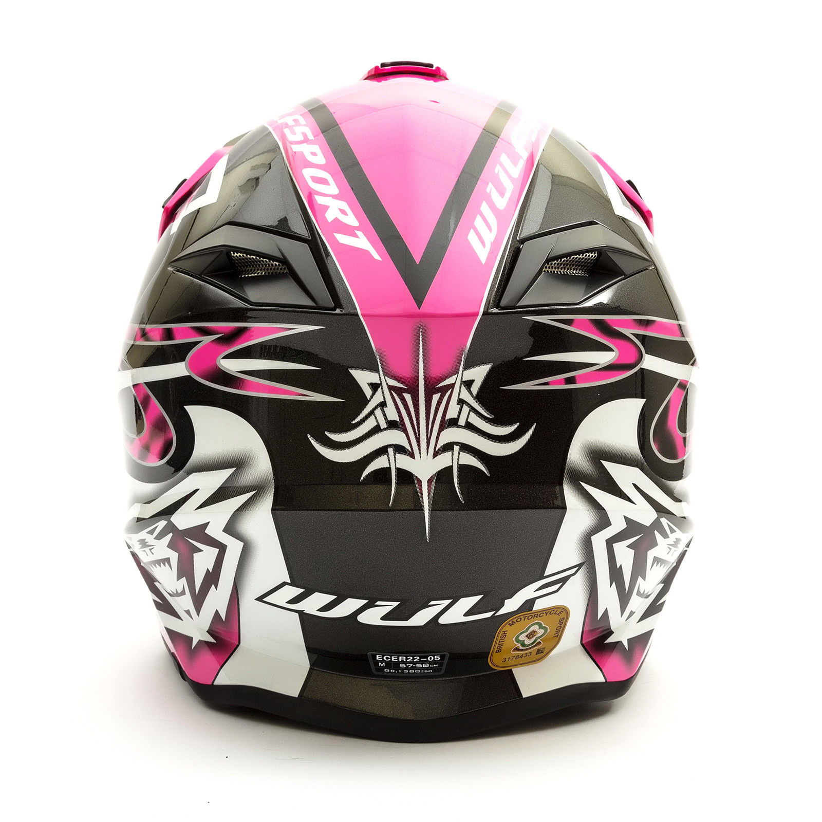 Wulfsport-Adult-Sceptre-Helmets-Motocross-Pitbike-Motorbike-Off-Road-Racing-ATV thumbnail 48