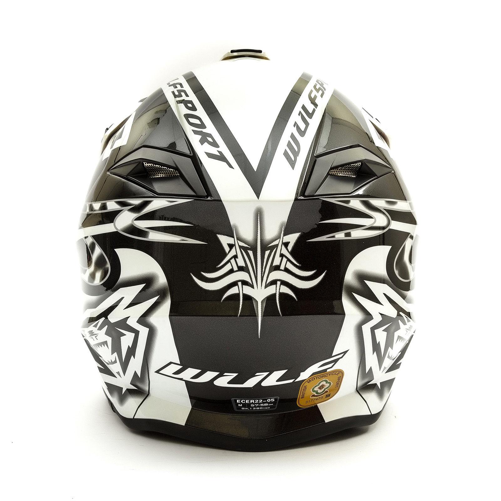 Wulfsport-Adult-Sceptre-Helmets-Motocross-Pitbike-Motorbike-Off-Road-Racing-ATV thumbnail 60