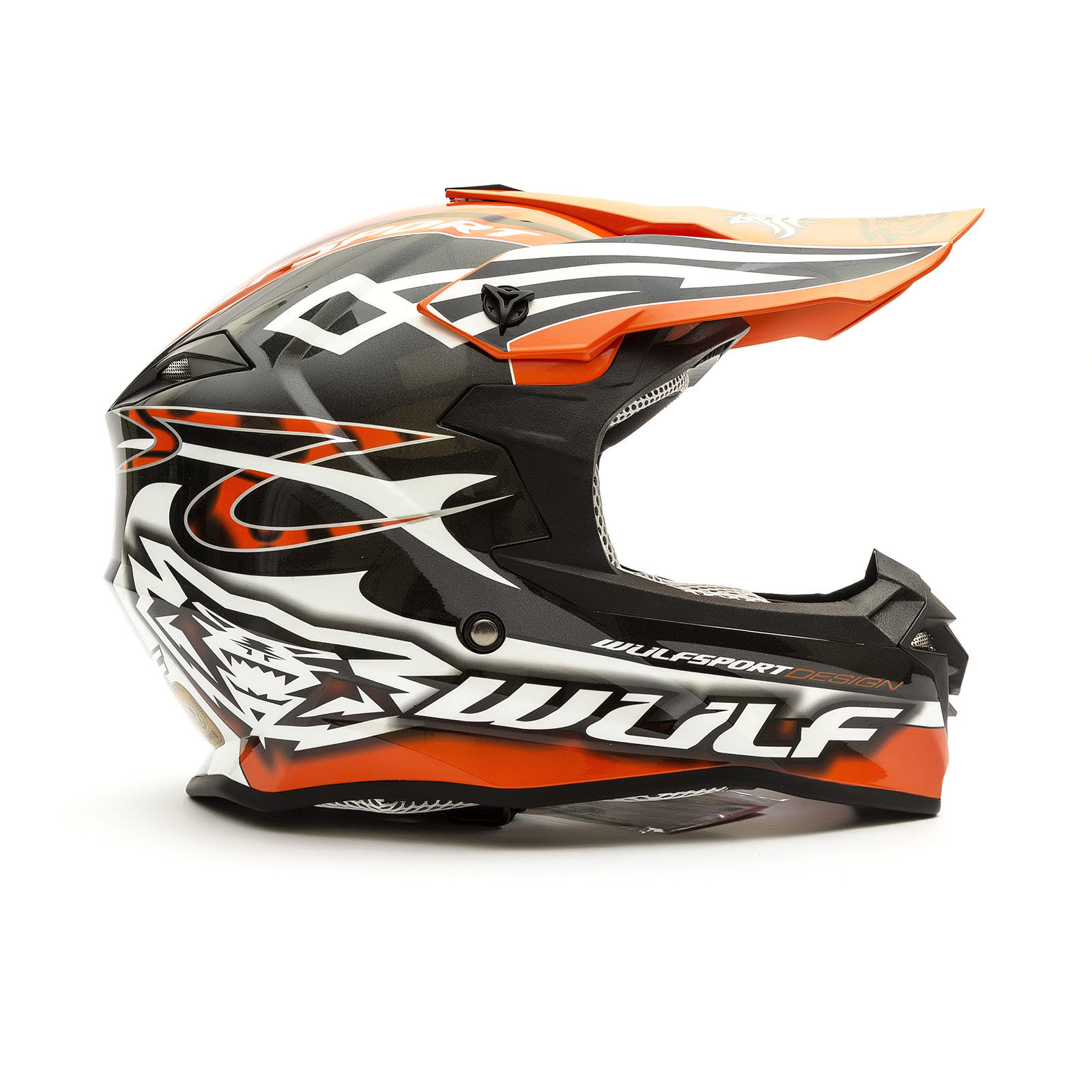 Wulfsport-Adult-Sceptre-Helmets-Motocross-Pitbike-Motorbike-Off-Road-Racing-ATV thumbnail 85