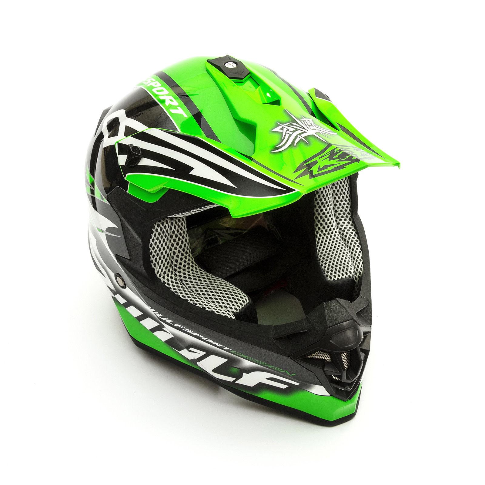 Wulfsport-Adult-Sceptre-Helmets-Motocross-Pitbike-Motorbike-Off-Road-Racing-ATV thumbnail 69