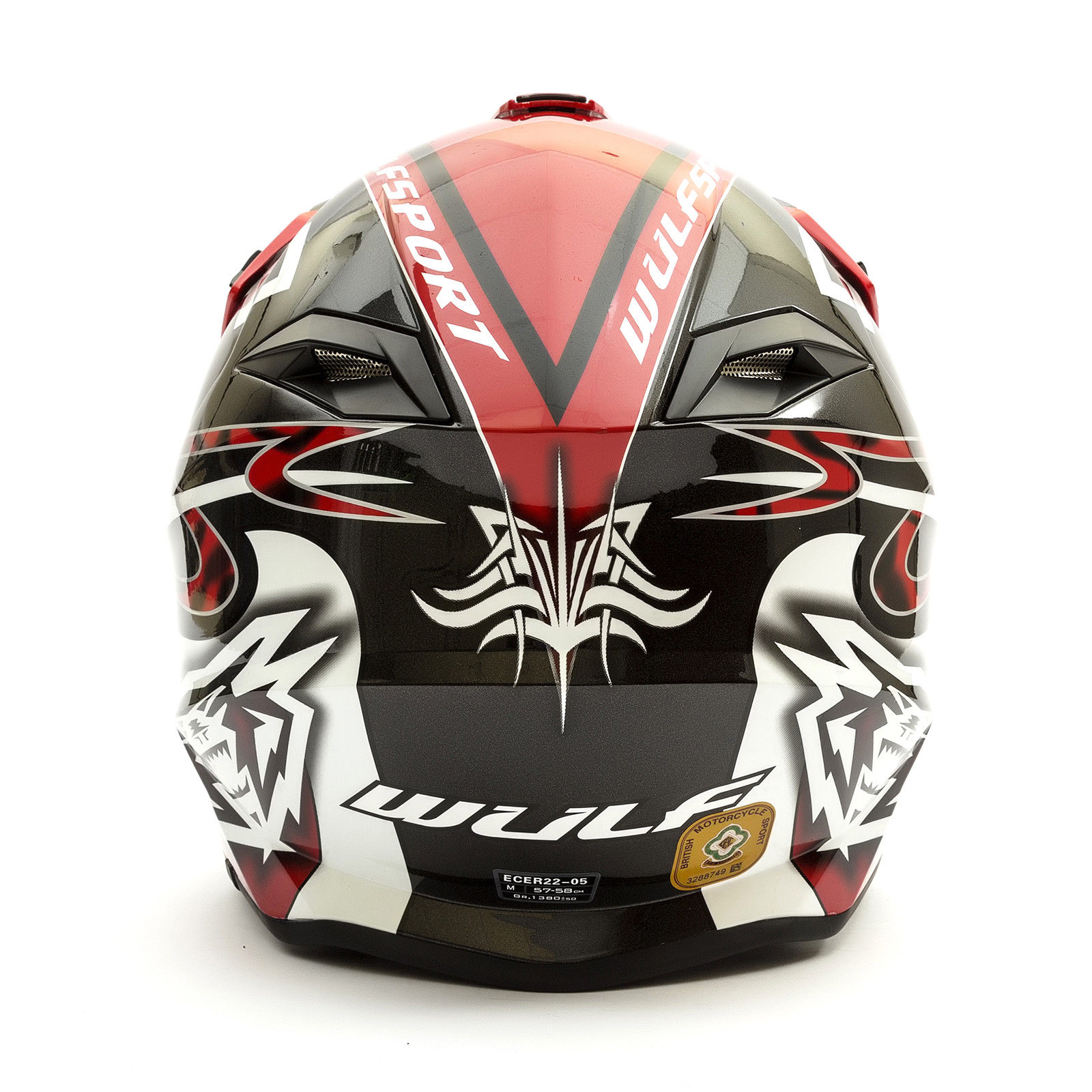 Wulfsport-Adult-Sceptre-Helmets-Motocross-Pitbike-Motorbike-Off-Road-Racing-ATV thumbnail 36