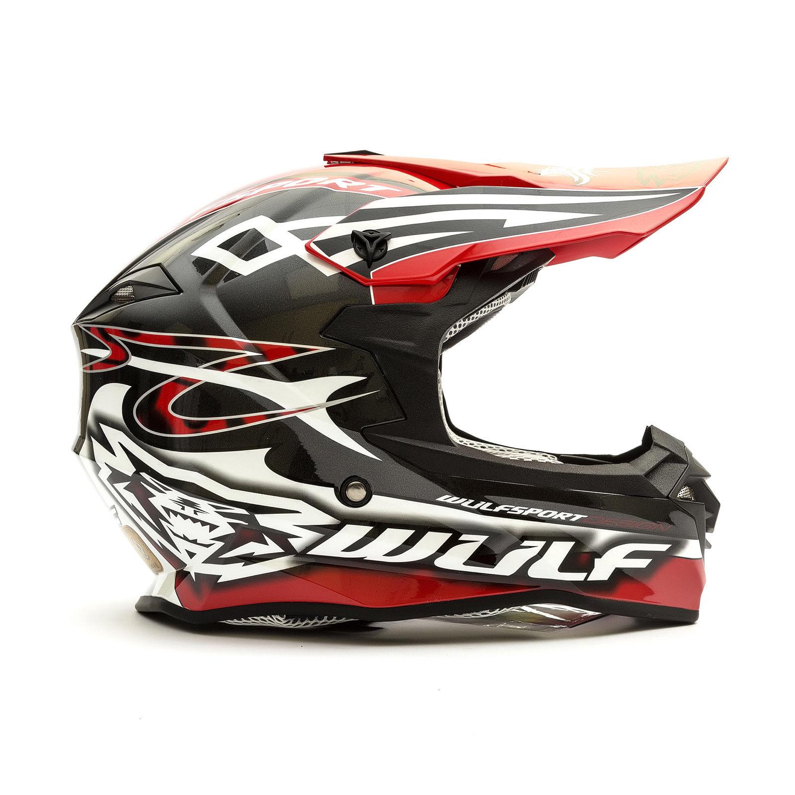 Wulfsport-Adult-Sceptre-Helmets-Motocross-Pitbike-Motorbike-Off-Road-Racing-ATV thumbnail 37