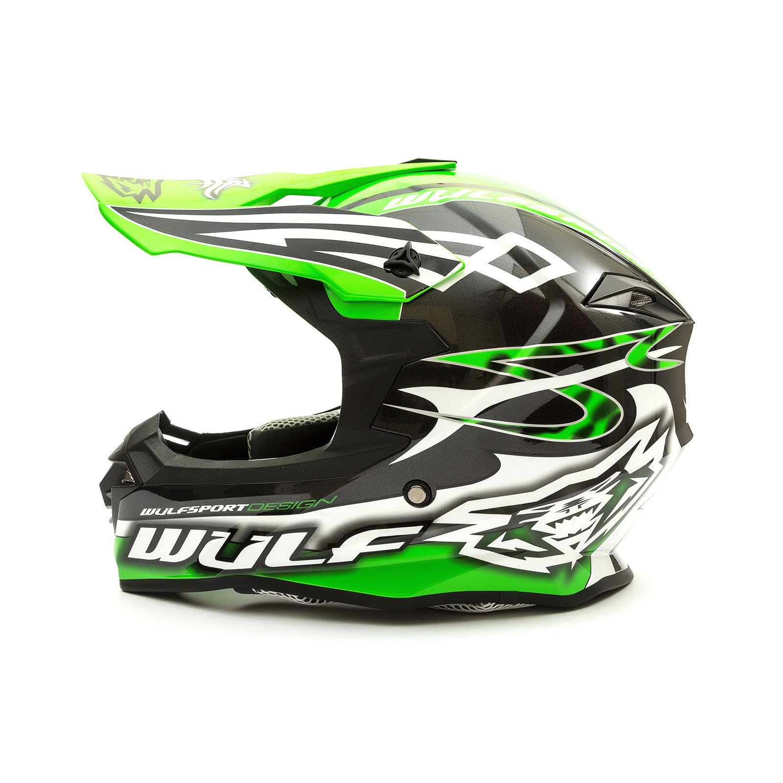 Wulfsport-Adult-Sceptre-Helmets-Motocross-Pitbike-Motorbike-Off-Road-Racing-ATV thumbnail 71
