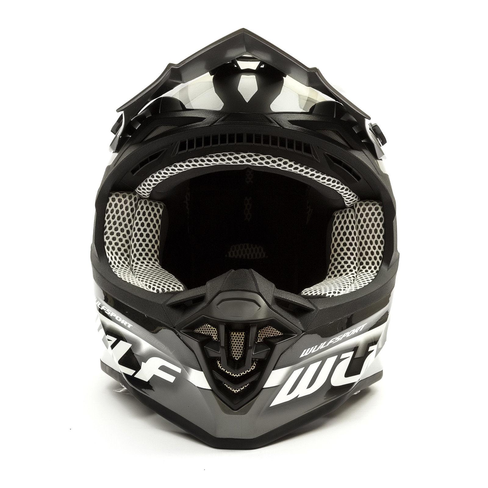 Wulfsport-Adult-Sceptre-Helmets-Motocross-Pitbike-Motorbike-Off-Road-Racing-ATV thumbnail 14