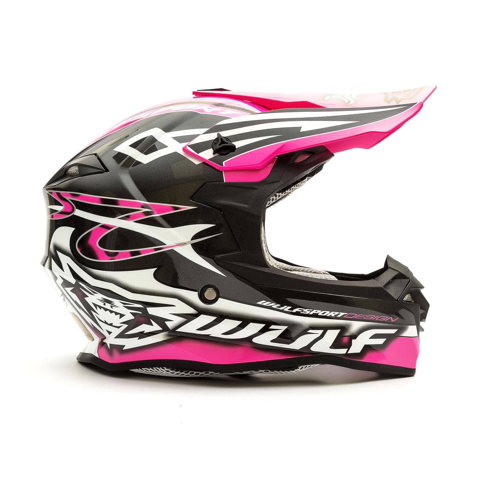 Wulfsport-Adult-Sceptre-Helmets-Motocross-Pitbike-Motorbike-Off-Road-Racing-ATV thumbnail 49