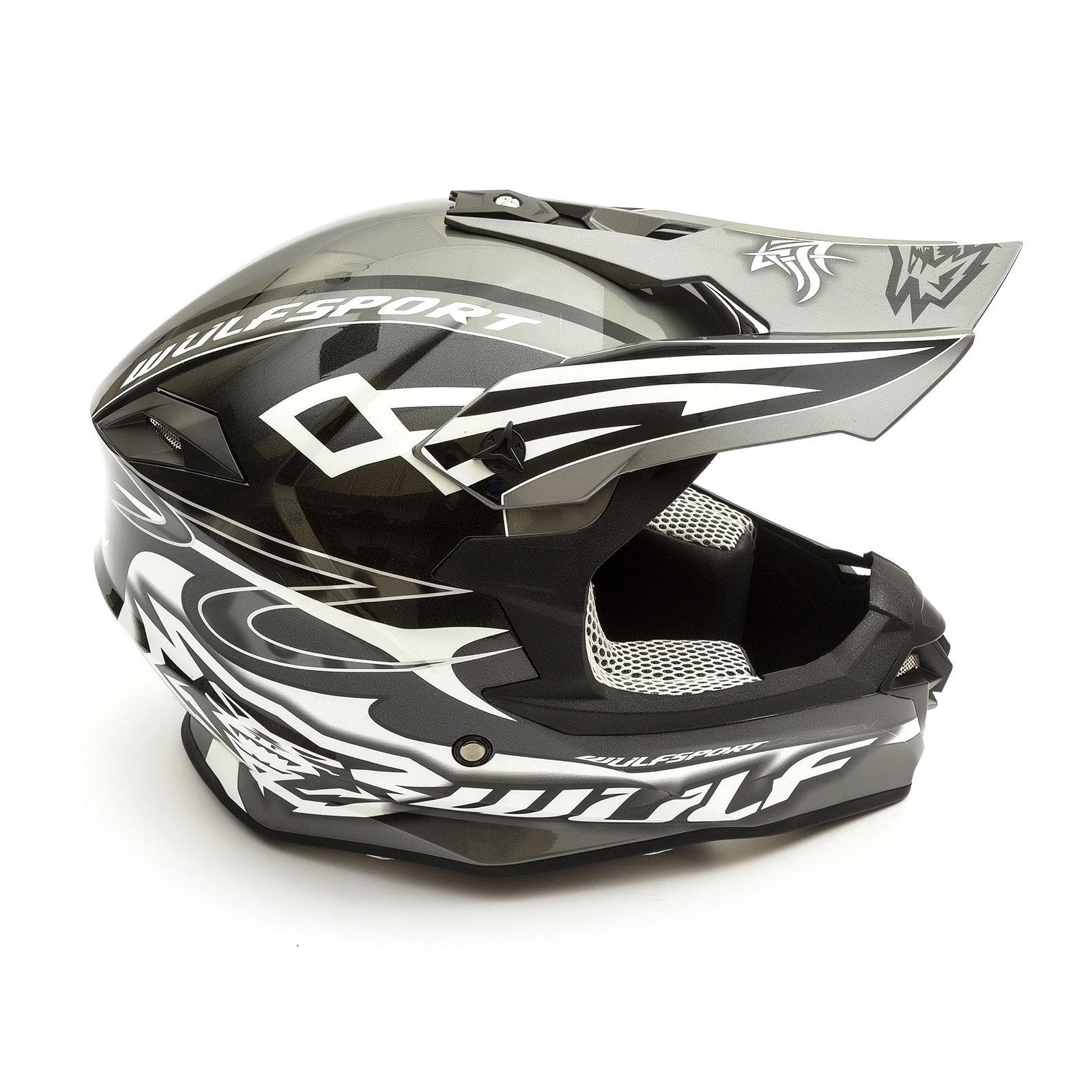 Wulfsport-Adult-Sceptre-Helmets-Motocross-Pitbike-Motorbike-Off-Road-Racing-ATV thumbnail 8