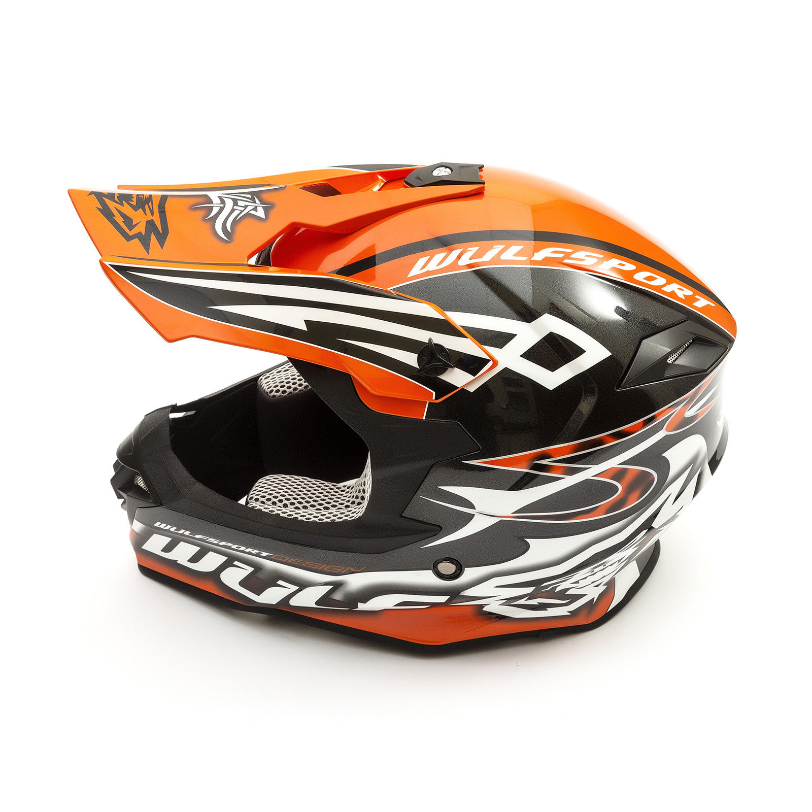 Wulfsport-Adult-Sceptre-Helmets-Motocross-Pitbike-Motorbike-Off-Road-Racing-ATV thumbnail 76