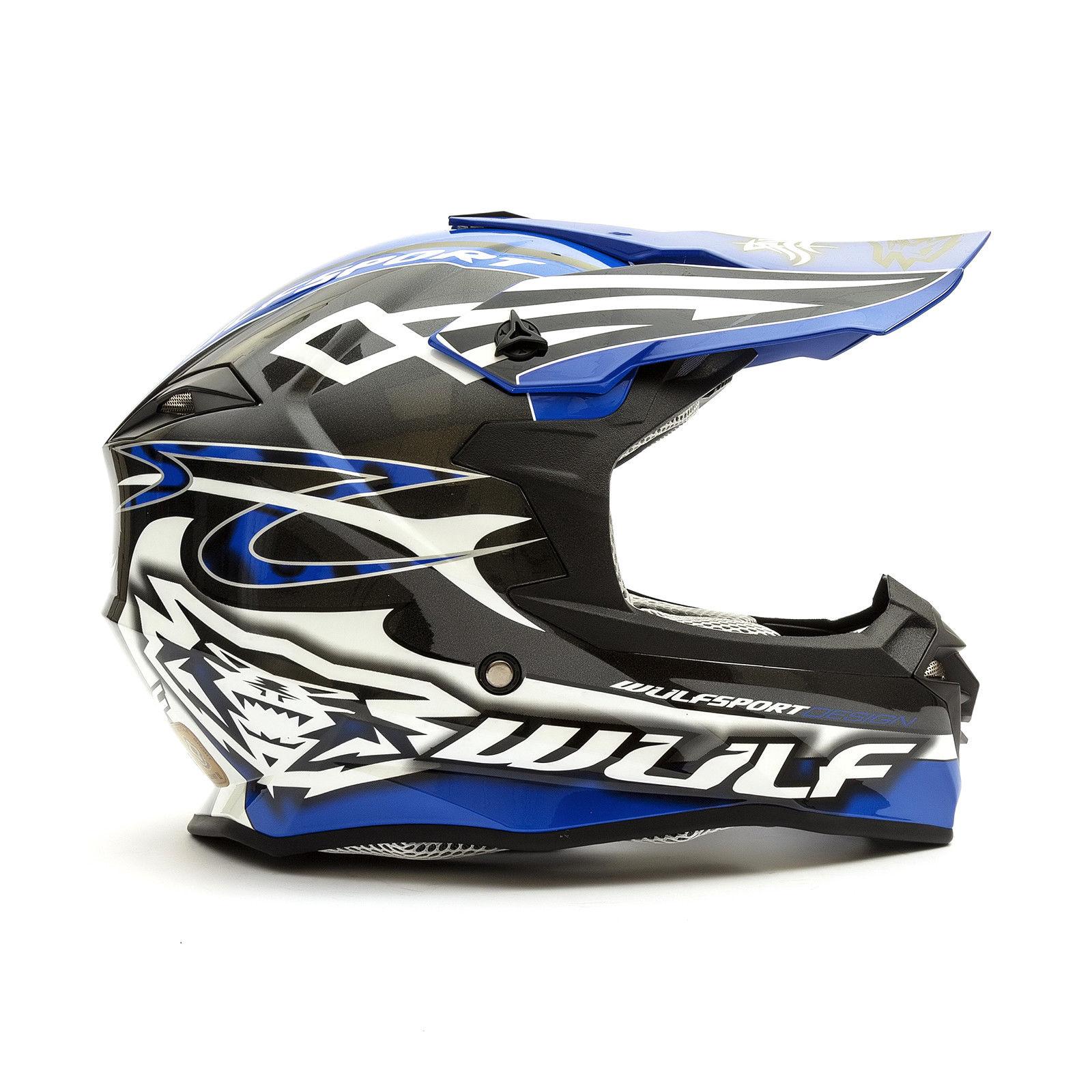 Wulfsport-Adult-Sceptre-Helmets-Motocross-Pitbike-Motorbike-Off-Road-Racing-ATV thumbnail 25