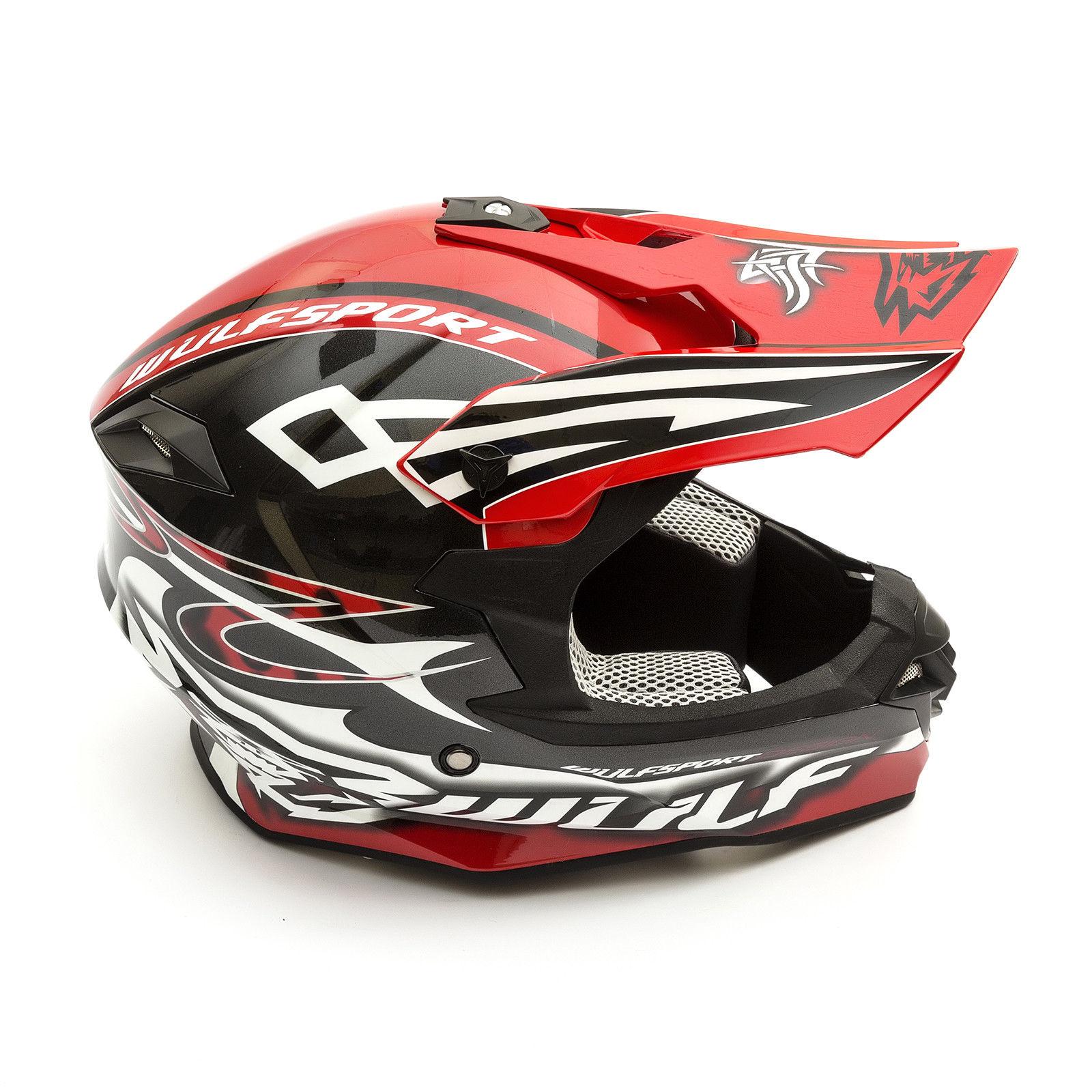 Wulfsport-Adult-Sceptre-Helmets-Motocross-Pitbike-Motorbike-Off-Road-Racing-ATV thumbnail 32