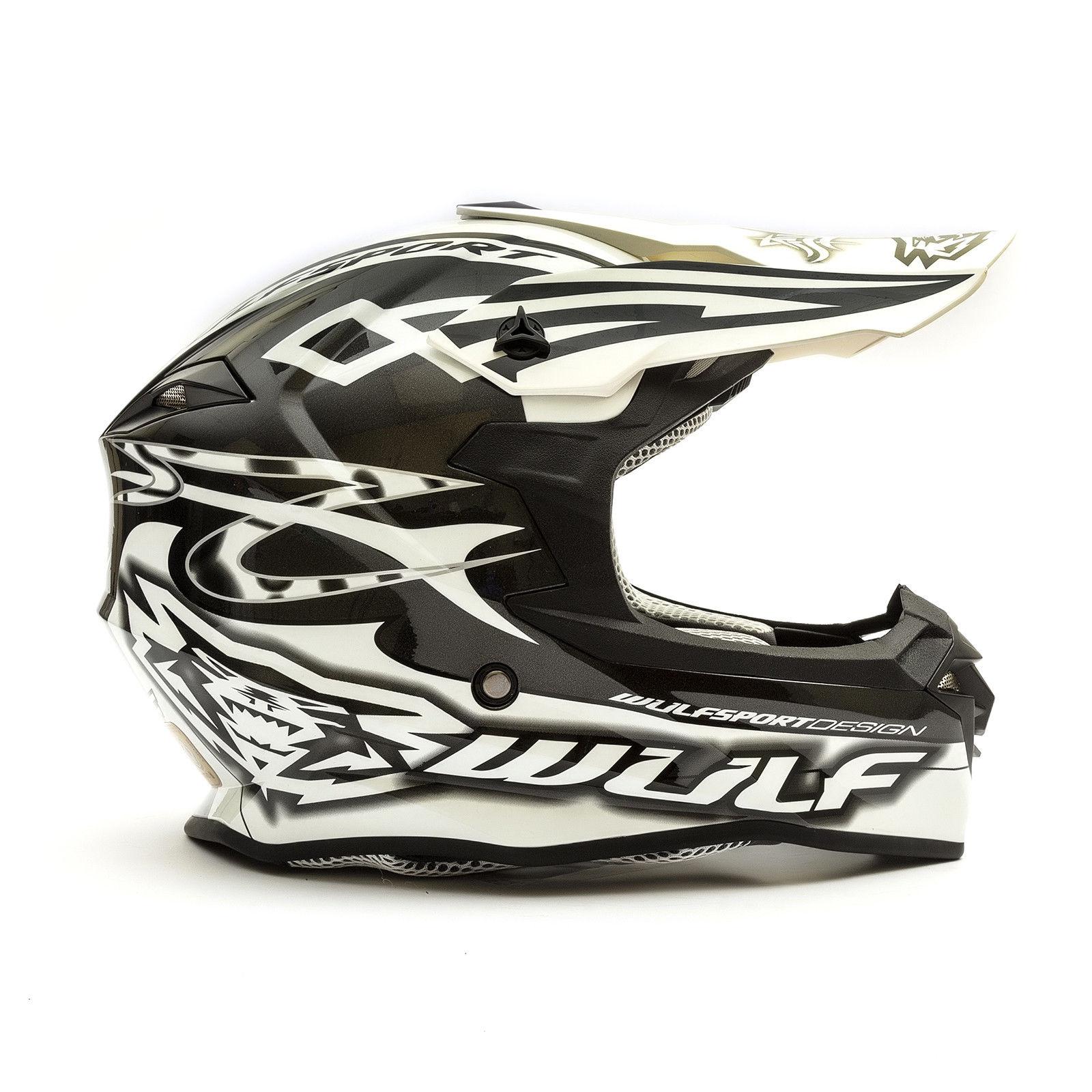Wulfsport-Adult-Sceptre-Helmets-Motocross-Pitbike-Motorbike-Off-Road-Racing-ATV thumbnail 61