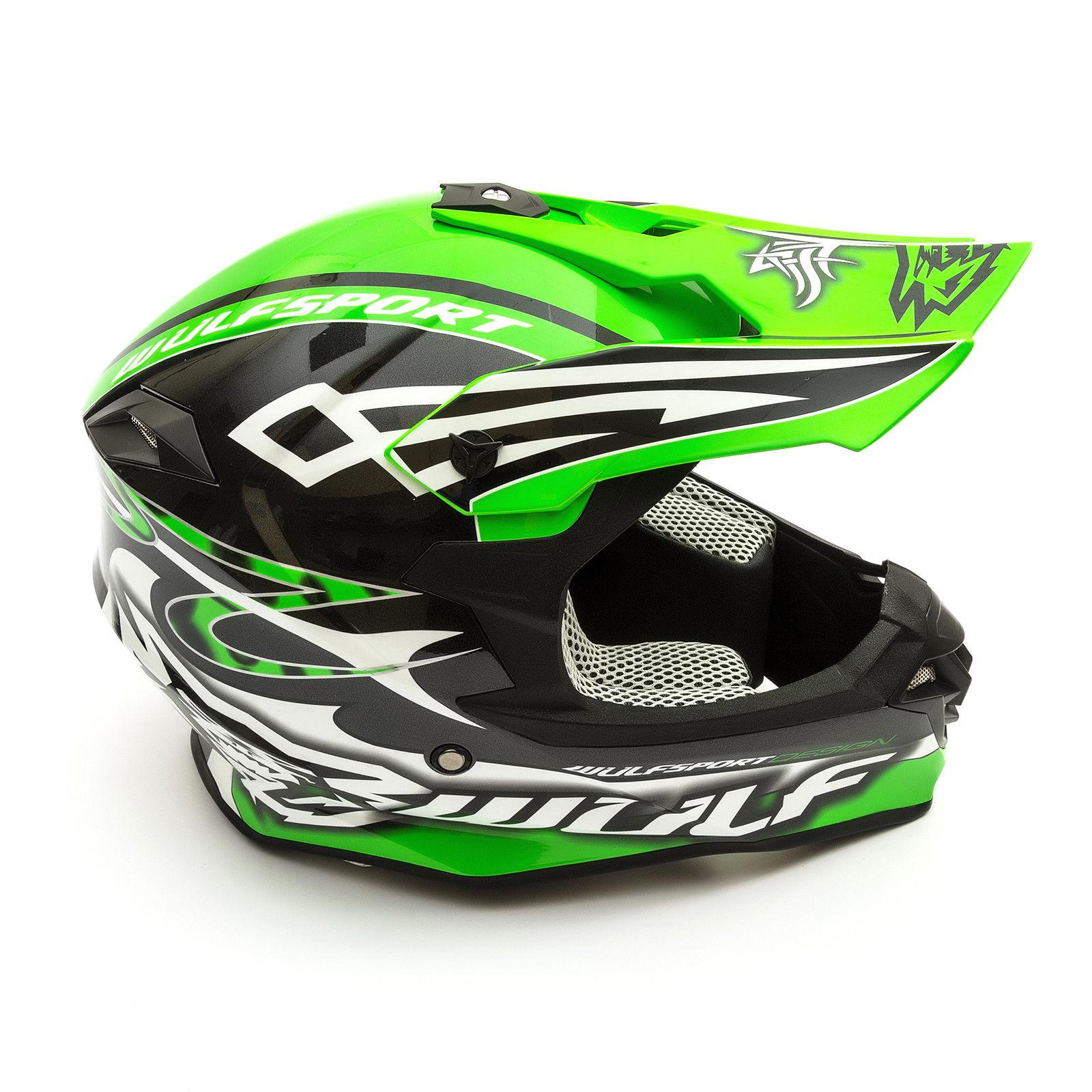Wulfsport-Adult-Sceptre-Helmets-Motocross-Pitbike-Motorbike-Off-Road-Racing-ATV thumbnail 68