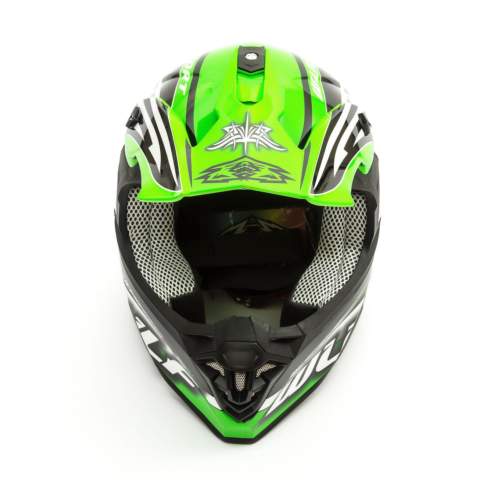 Wulfsport-Adult-Sceptre-Helmets-Motocross-Pitbike-Motorbike-Off-Road-Racing-ATV thumbnail 70