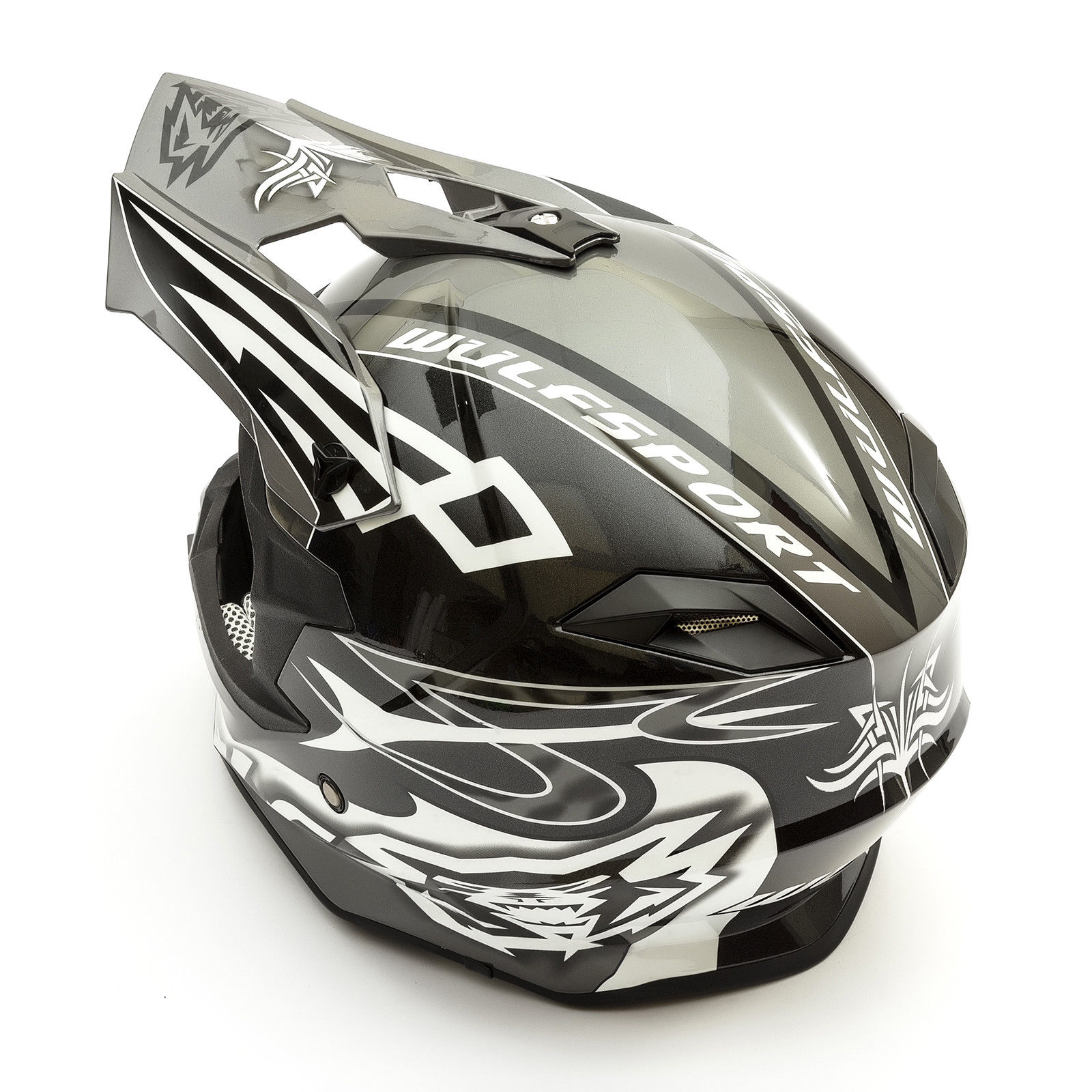 Wulfsport-Adult-Sceptre-Helmets-Motocross-Pitbike-Motorbike-Off-Road-Racing-ATV thumbnail 5