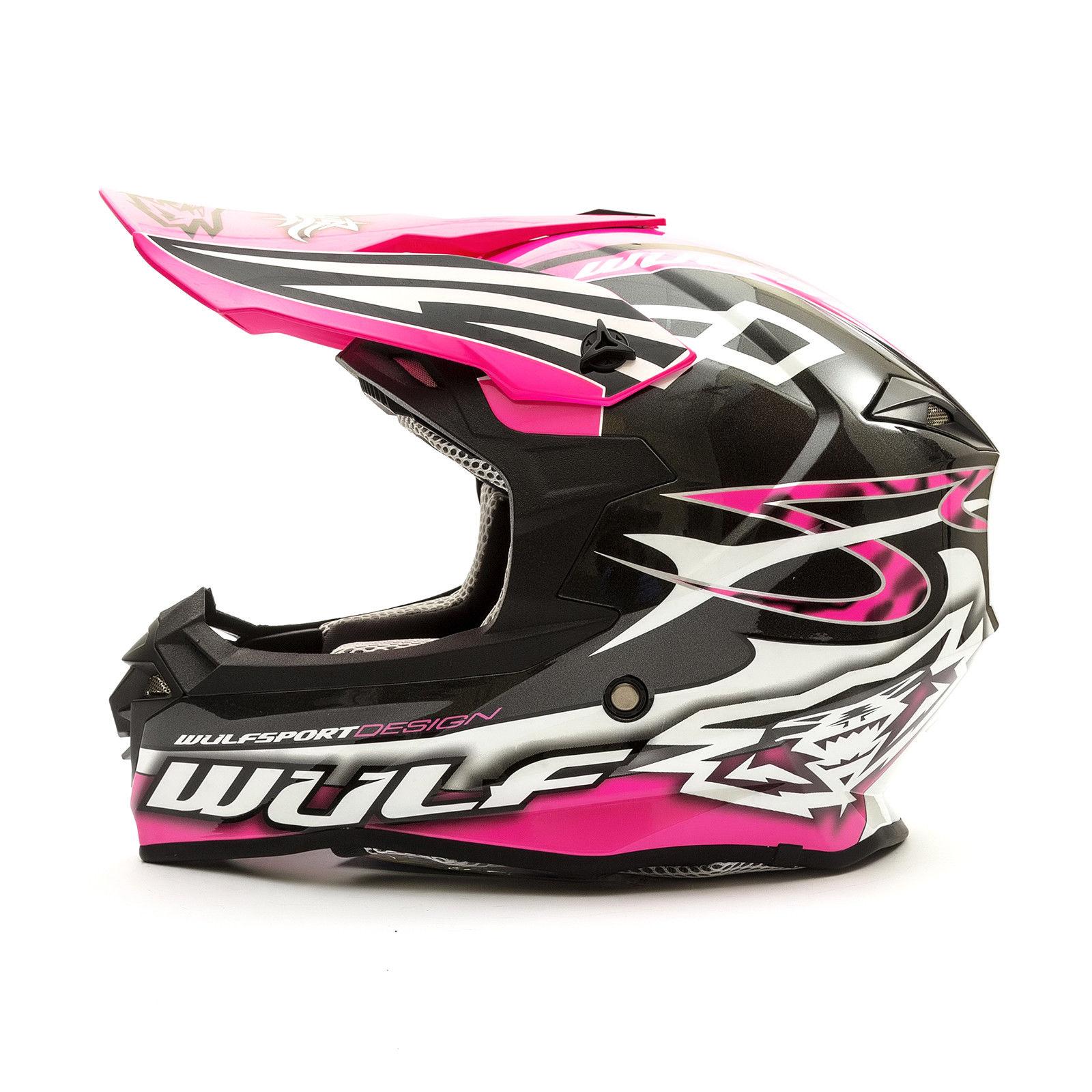 Wulfsport-Adult-Sceptre-Helmets-Motocross-Pitbike-Motorbike-Off-Road-Racing-ATV thumbnail 47