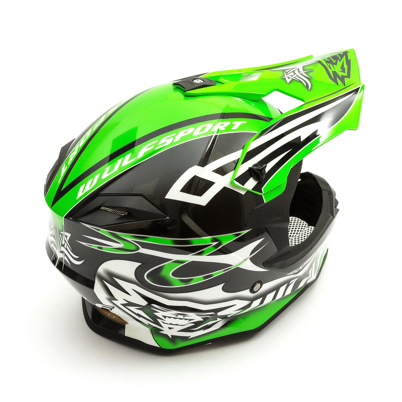 Wulfsport-Adult-Sceptre-Helmets-Motocross-Pitbike-Motorbike-Off-Road-Racing-ATV thumbnail 67