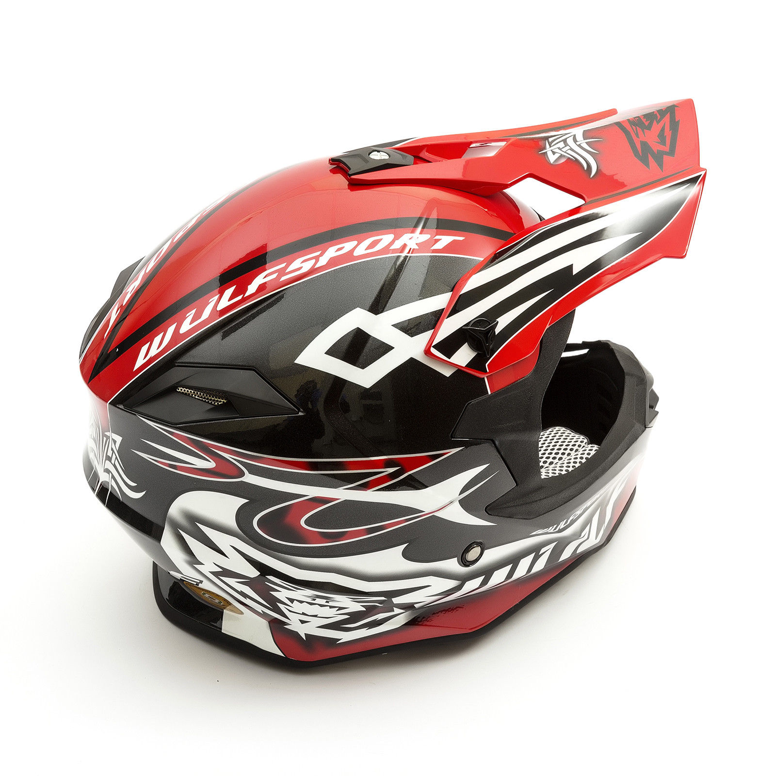 Wulfsport-Adult-Sceptre-Helmets-Motocross-Pitbike-Motorbike-Off-Road-Racing-ATV thumbnail 31
