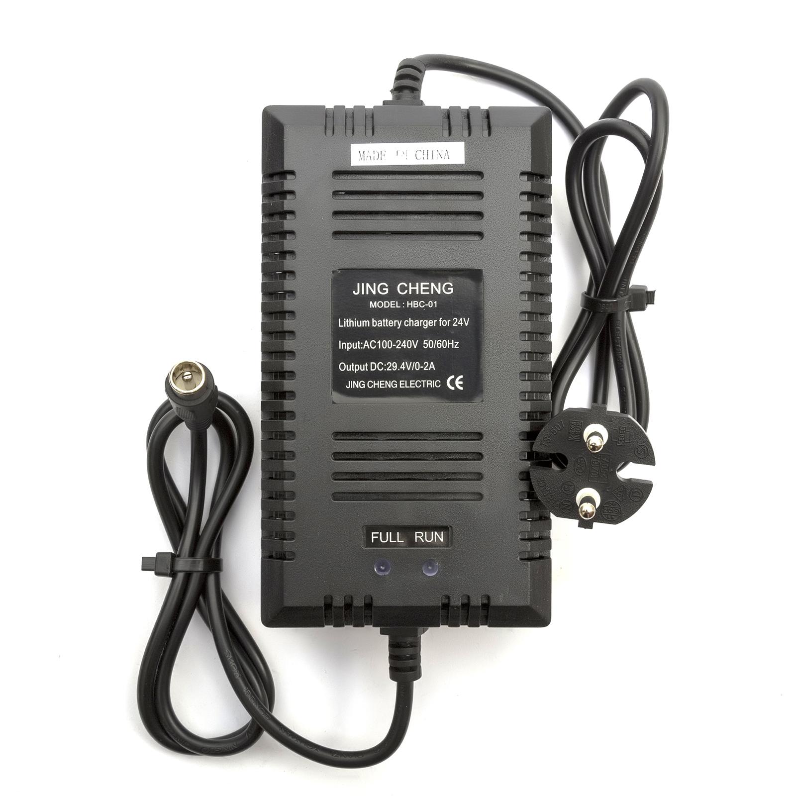 24v Lithium Battery Chargeur 0 2amp Prise Ue électrique Chaise